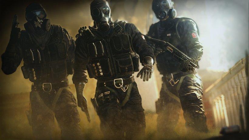 Tom Clancy S Rainbow Six Siege, Video Game, Mute, Smoke, - Rainbow Six Siege - HD Wallpaper