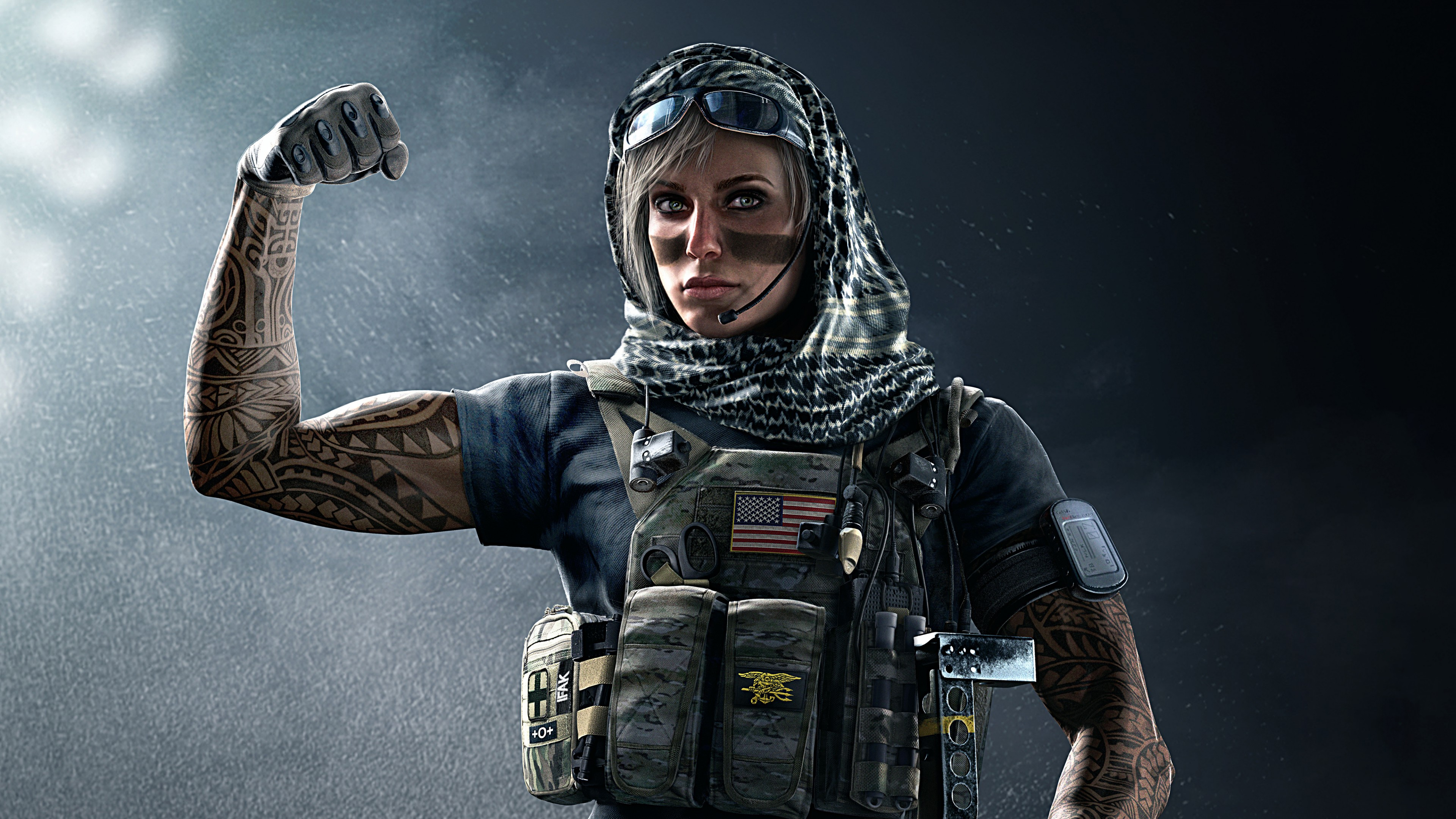 Tom Clancy Rainbow Six Siege Valkyrie - HD Wallpaper