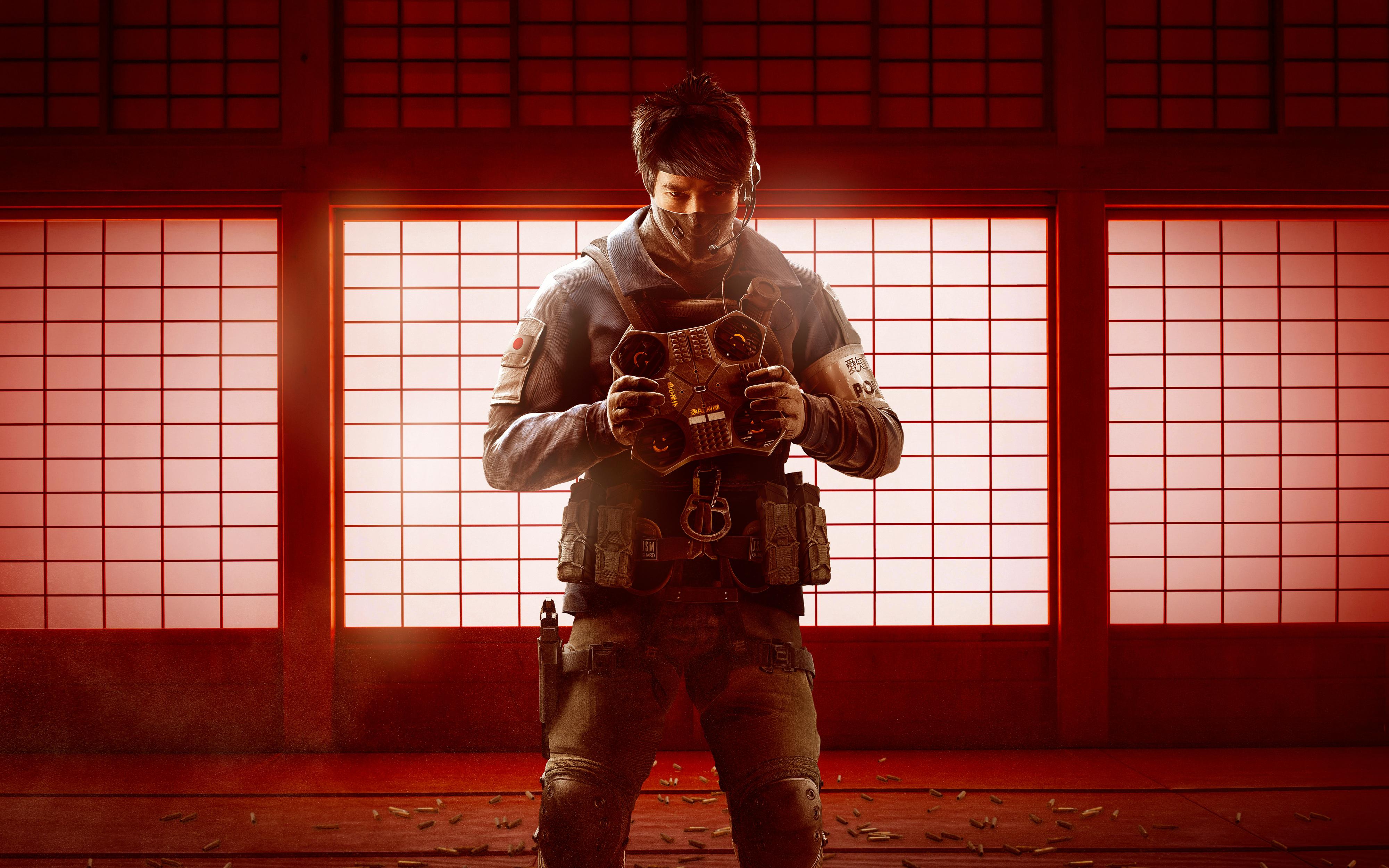 Games Tom Clancy S Rainbow Six - Rainbow Six Siege Echo - HD Wallpaper