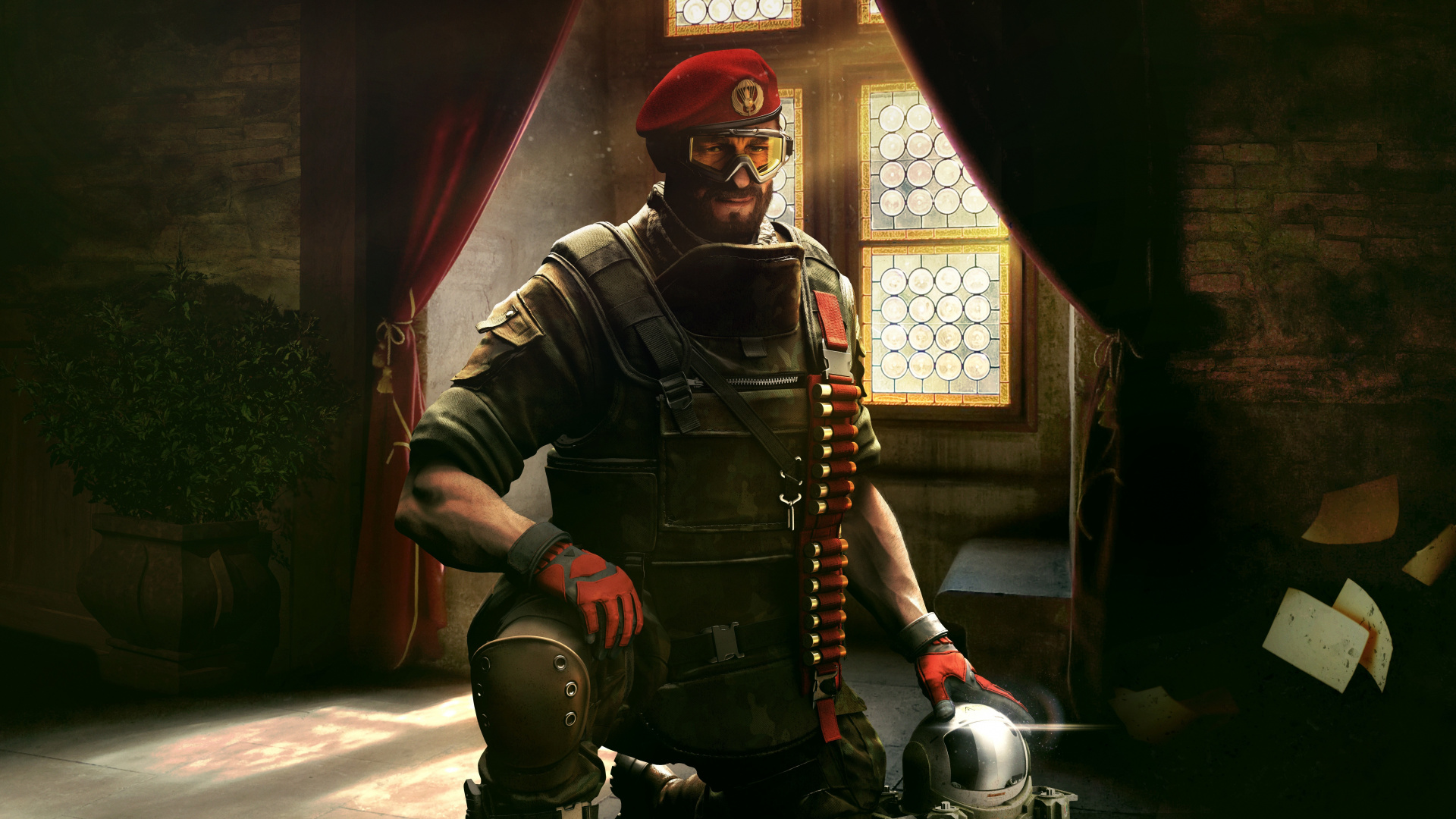 Video Game, Soldier, Tom Clancy S Rainbow Six Siege, - Rainbow Six Siege Maestro - HD Wallpaper