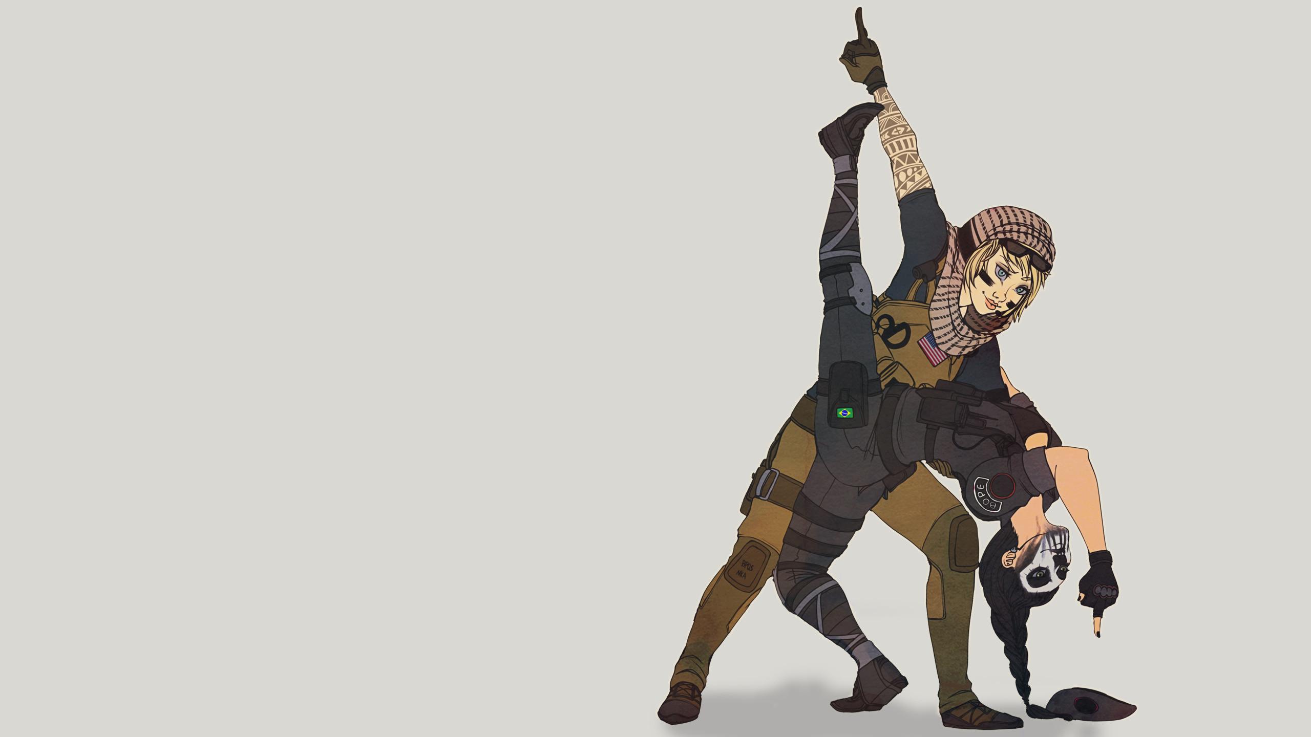Caveira, Tom Clancy, Rainbow Six - Rainbow Six Siege Cartoon - HD Wallpaper