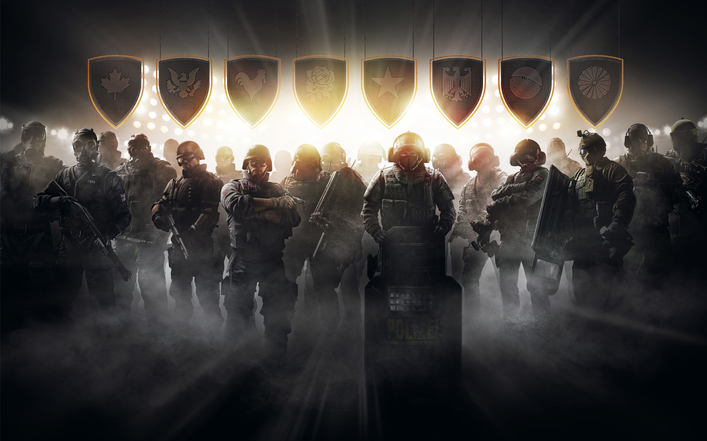 Tom Clancy S Rainbow Six - Rainbow Six Siege Wallpaper 4k - HD Wallpaper