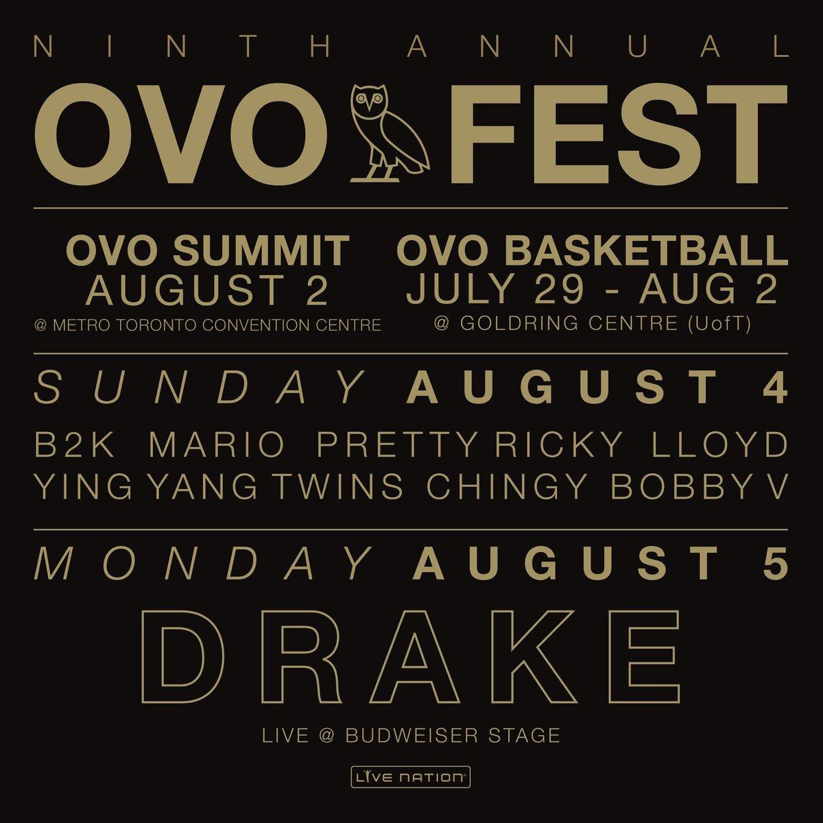 Ovo Fest 2019 Lineup - HD Wallpaper