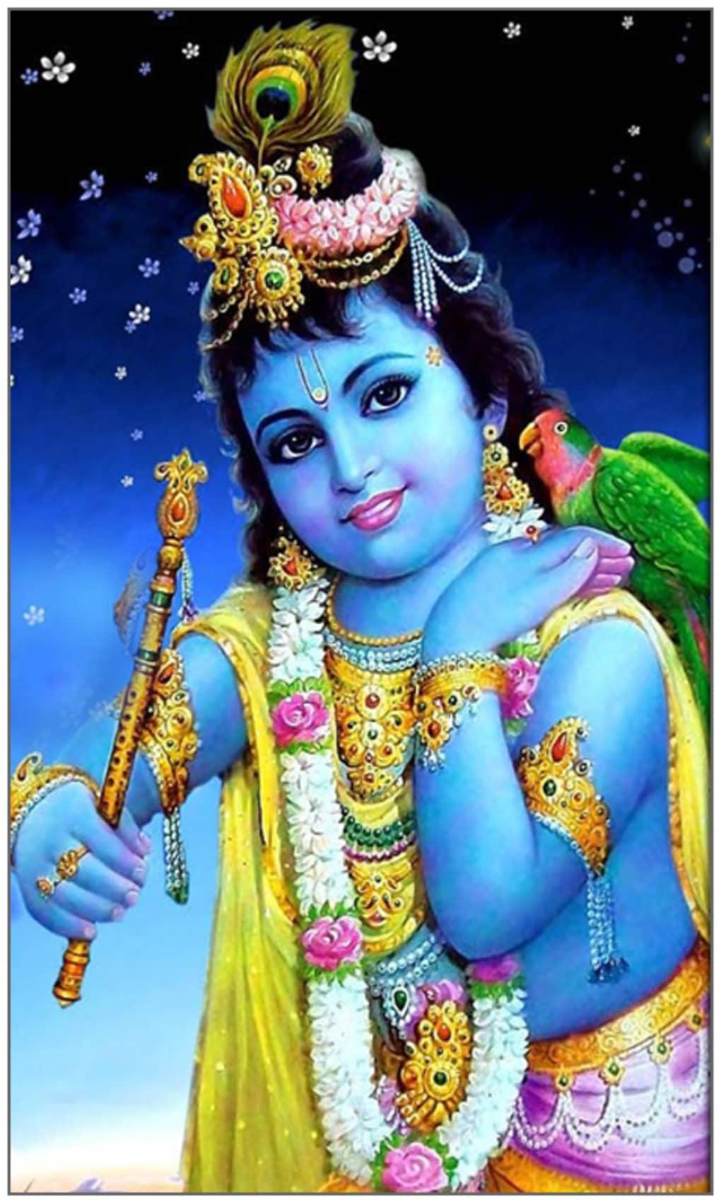 Sri Krishna God Live Wallpaper - Lord Krishna Photos Download - HD Wallpaper