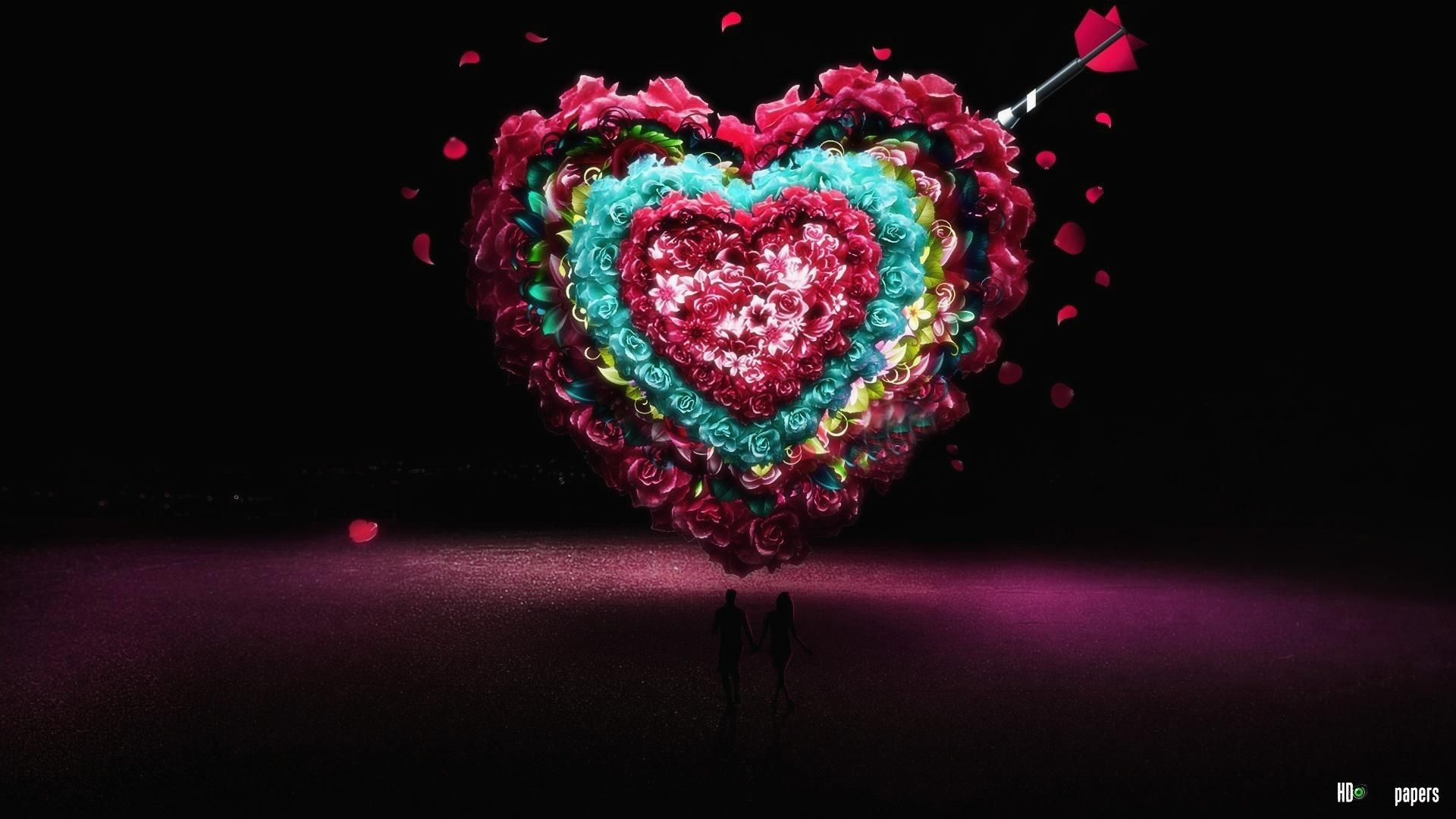 Download Wallpaper For Mobile Of Love Best Of 3d Wallpapers - Super Love Image Hd - HD Wallpaper