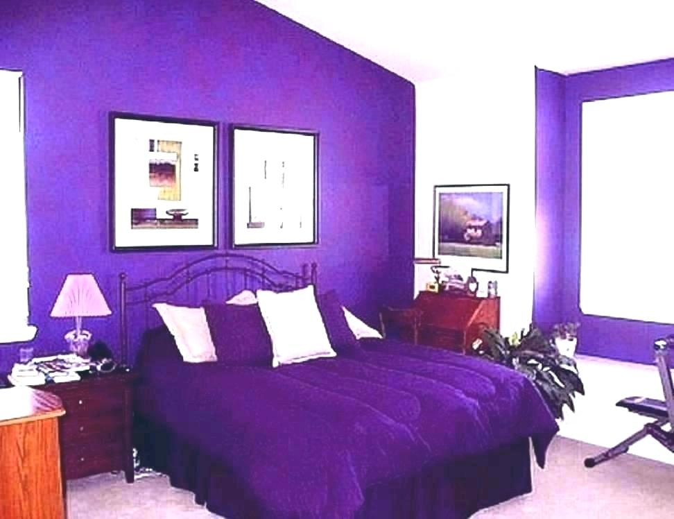 Galaxy Bedroom Walls Purple Wallpaper For Wall - Bedroom Room Paint Colors - HD Wallpaper