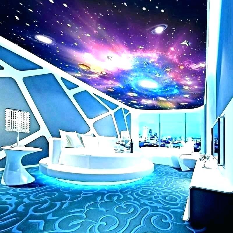Galaxy Bedroom Walls Wallpaper For House Wall Paint - HD Wallpaper