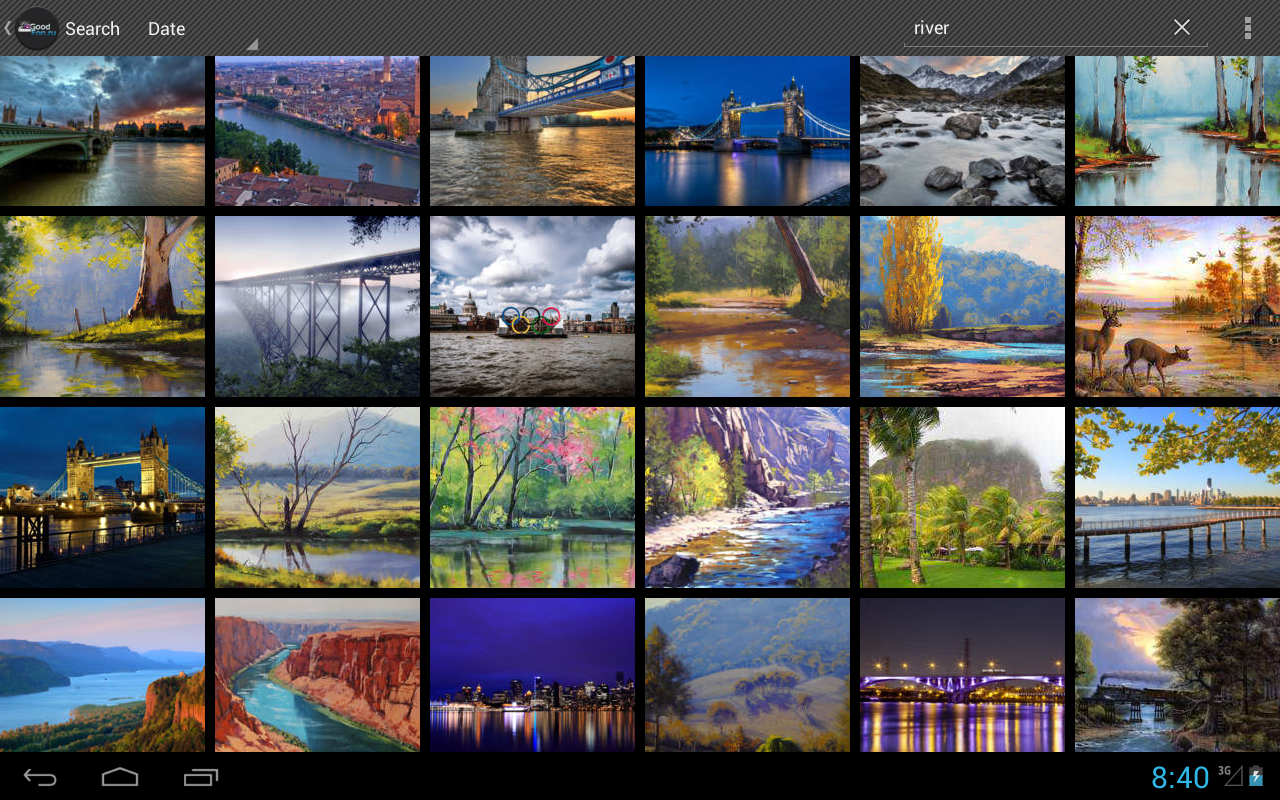 Gallery Wallpapers   Android Application Package   20x20 ...