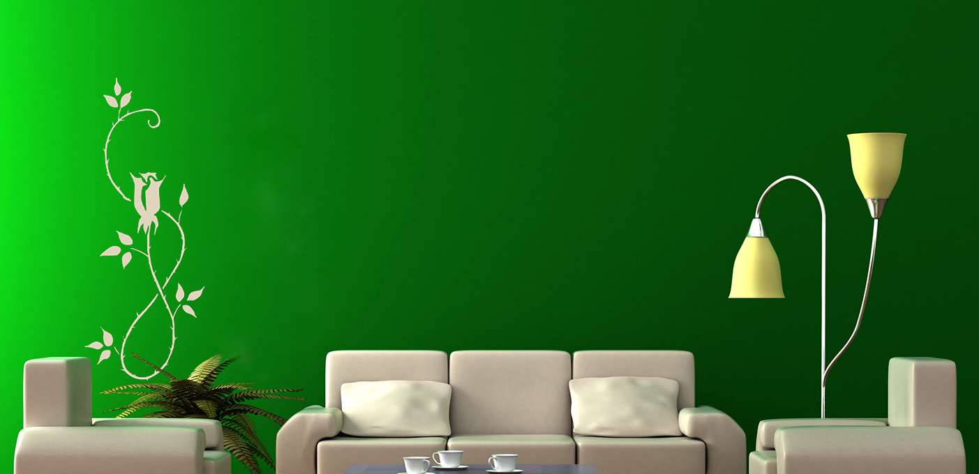 Two Colour Combination For Bedroom Walls - HD Wallpaper