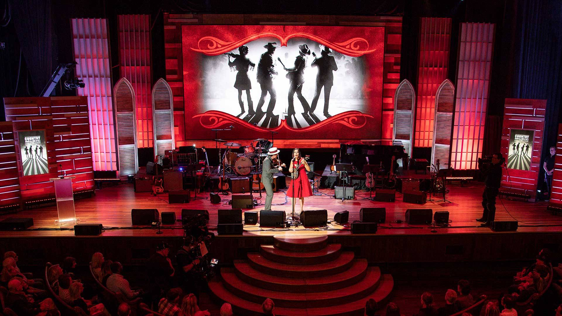 Country Music Live At The Ryman - HD Wallpaper