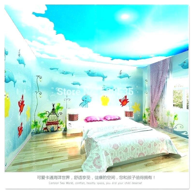 Wallpaper For Bedroom Wall India Kids Room Wallpaper - Ocean Themed Bedroom - HD Wallpaper
