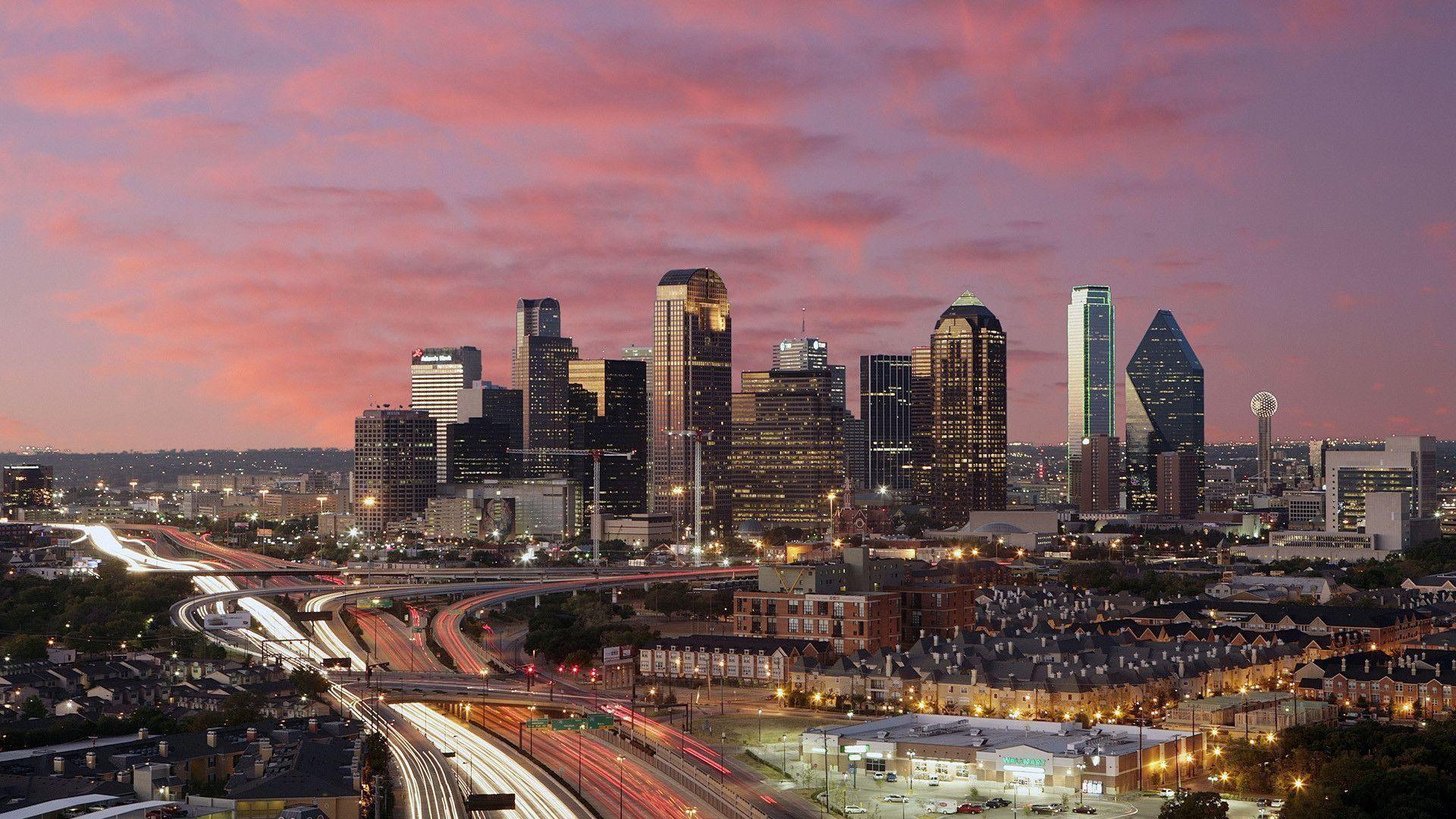 1920x1080, Better Skyline Houston Or Dallas - Dallas Texas - HD Wallpaper