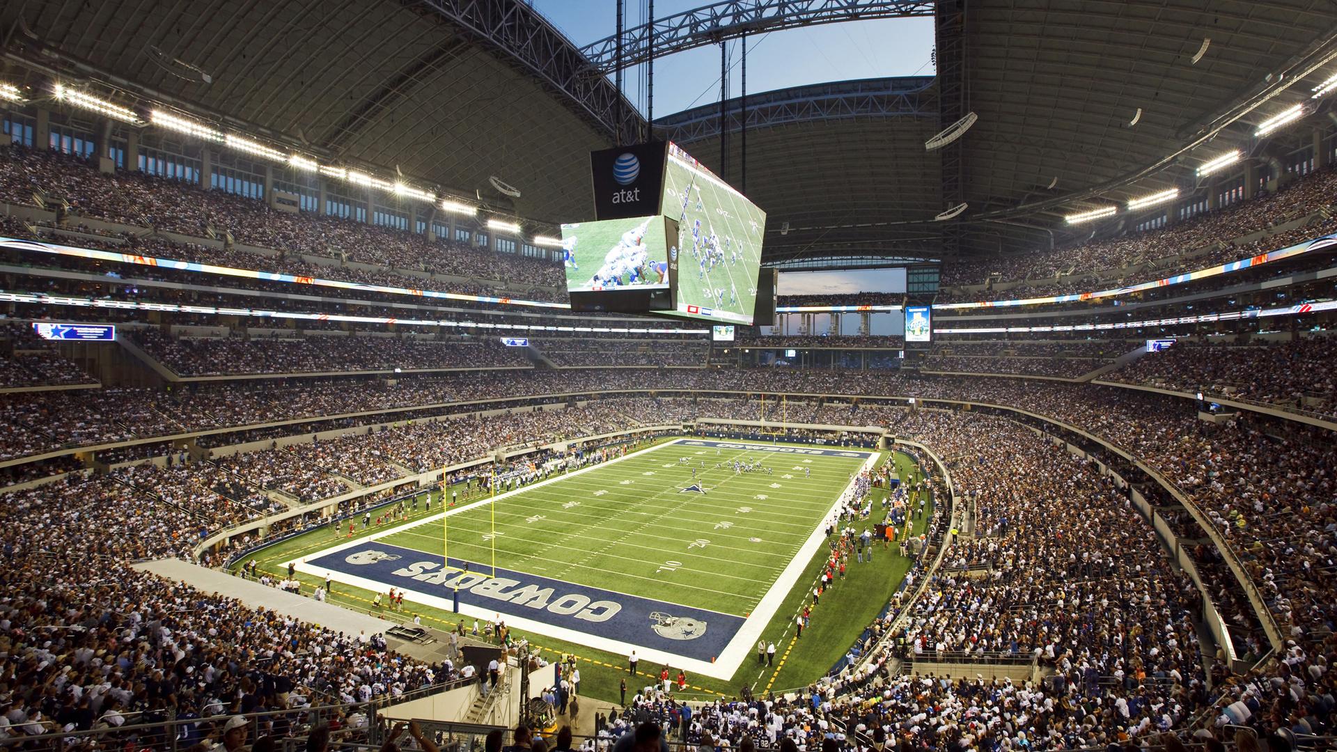 Nfl Dallas Cowboys Stadium During Game - Dallas Cowboys - HD Wallpaper