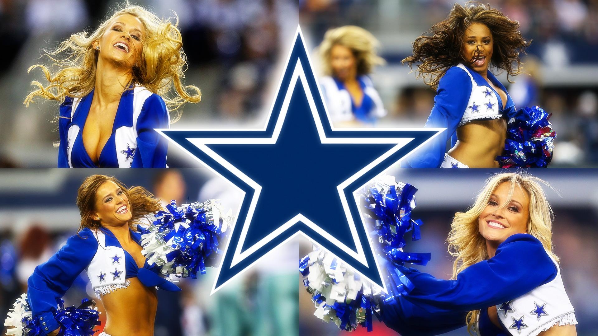 Dallas Cowboys Cheerleaders Wallpaper For Desktop - Dallas Cowboys Star - HD Wallpaper