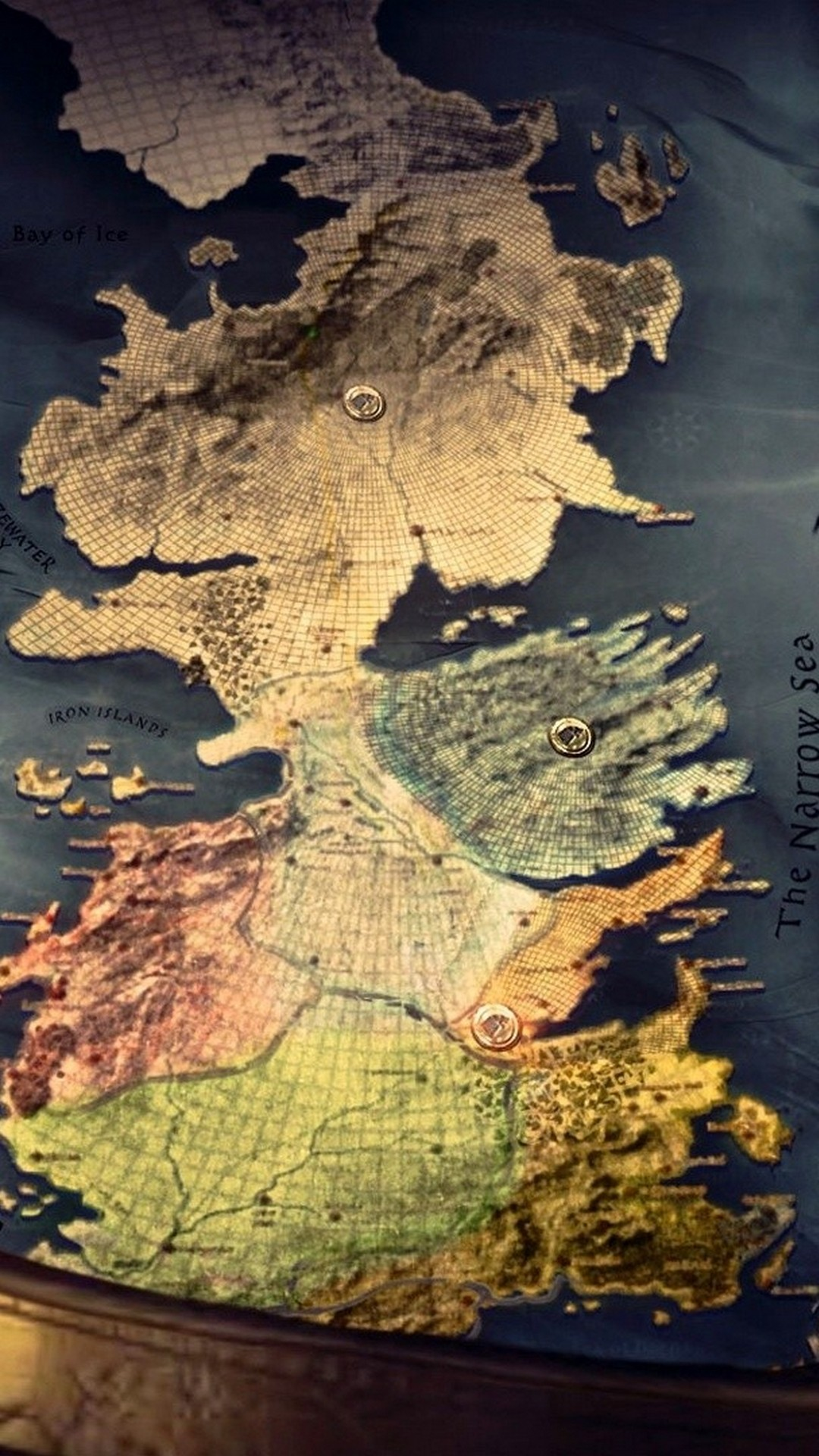 Game Of Thrones Map Iphone Wallpaper With High-resolution - Game Of Thrones Map Phone - HD Wallpaper