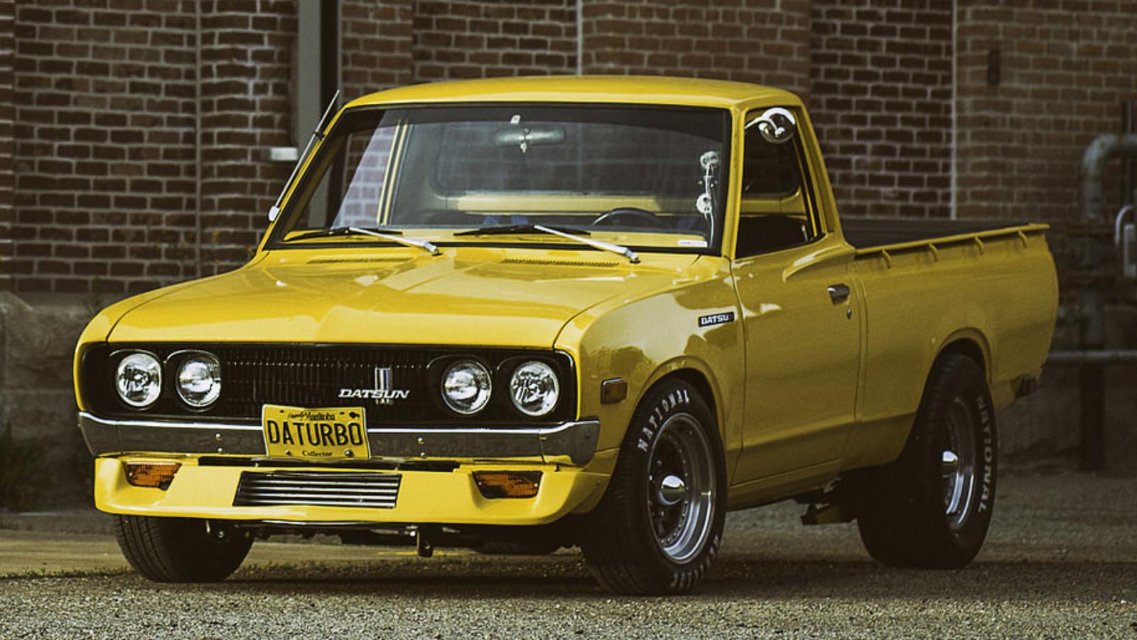 Datsun 60 Pick Up 1600x900 Wallpaper Teahub Io