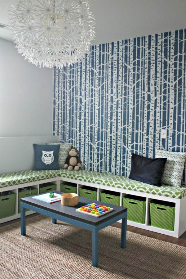Color Ideas For Your Interior - Living Room One Wall - HD Wallpaper