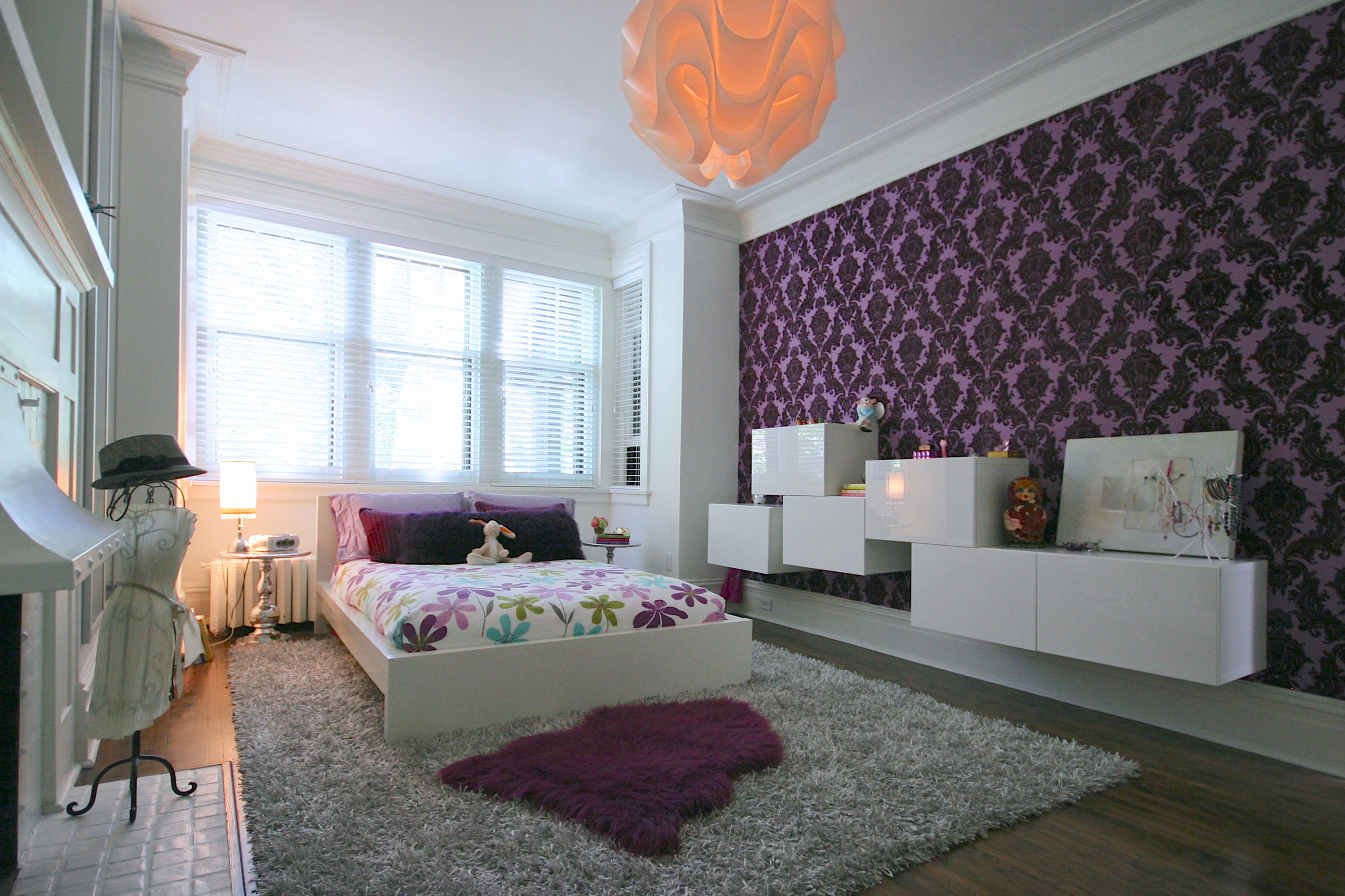 Cool Teen Bedrooms For Your Home Ideas - Bedroom Accent Wall Design Ideas - HD Wallpaper