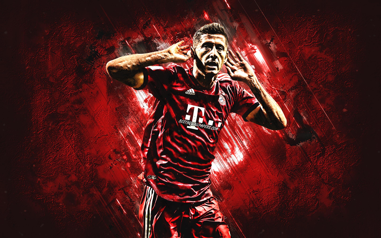Robert Lewandowski Bayern Munich Fc Polish Football Robert Lewandowski Wallpaper Hd 2880x1800 Wallpaper Teahub Io