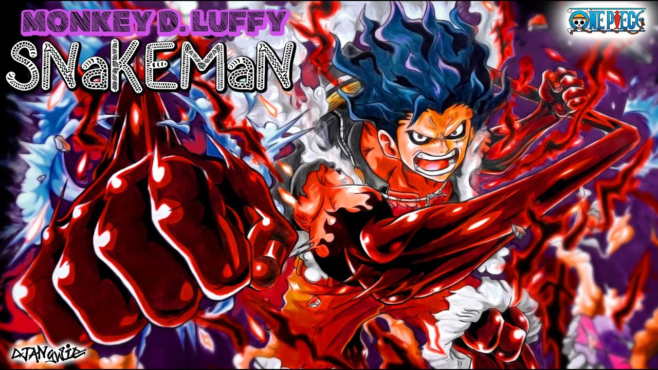 Luffy Snake Man Art 1280x720 Wallpaper Teahub Io