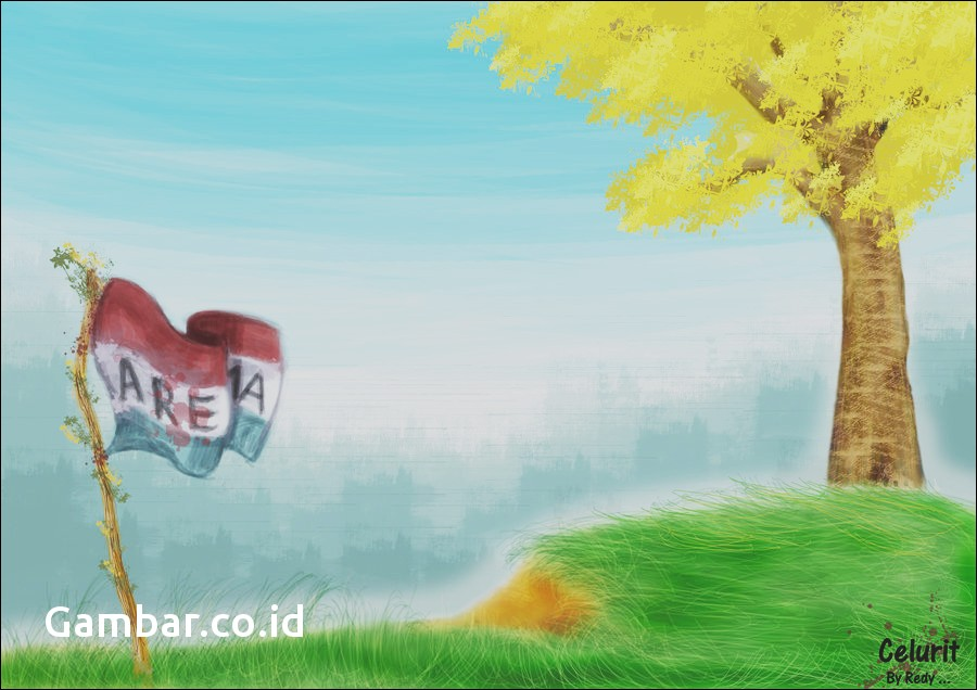 Wallpaper Arema Singo Edan - Stiker Arema Kartun Keren - HD Wallpaper