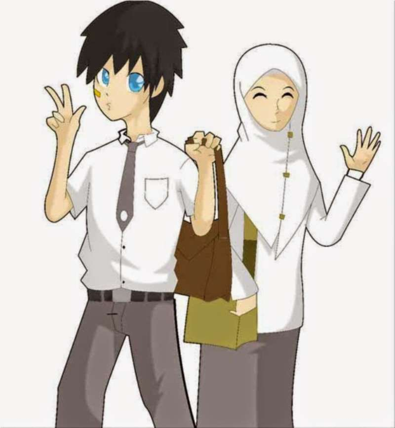 Muslim Dan Muslimah - HD Wallpaper