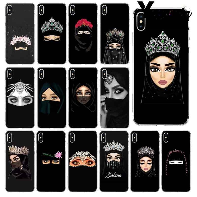 Yinuoda Muslim Islamic Gril Eyes Wallpaper Tpu Soft - Обои На Телефон Исламские - HD Wallpaper