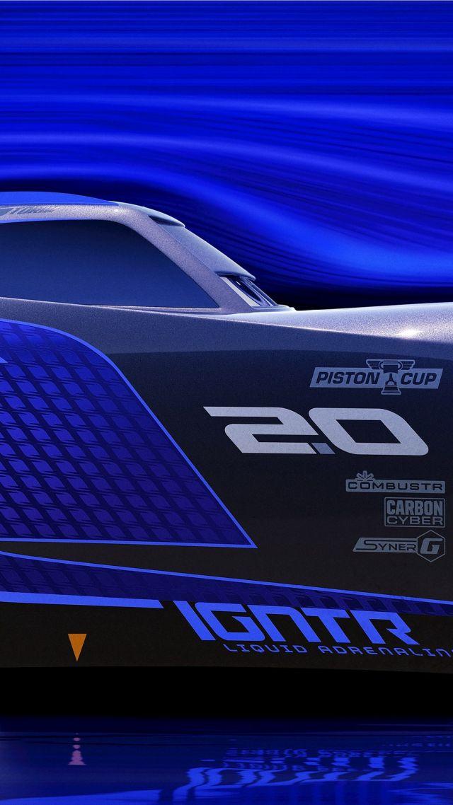 Cars 3 4k Lightning Mcqueen Poster Car 640x1138 Wallpaper Teahub Io
