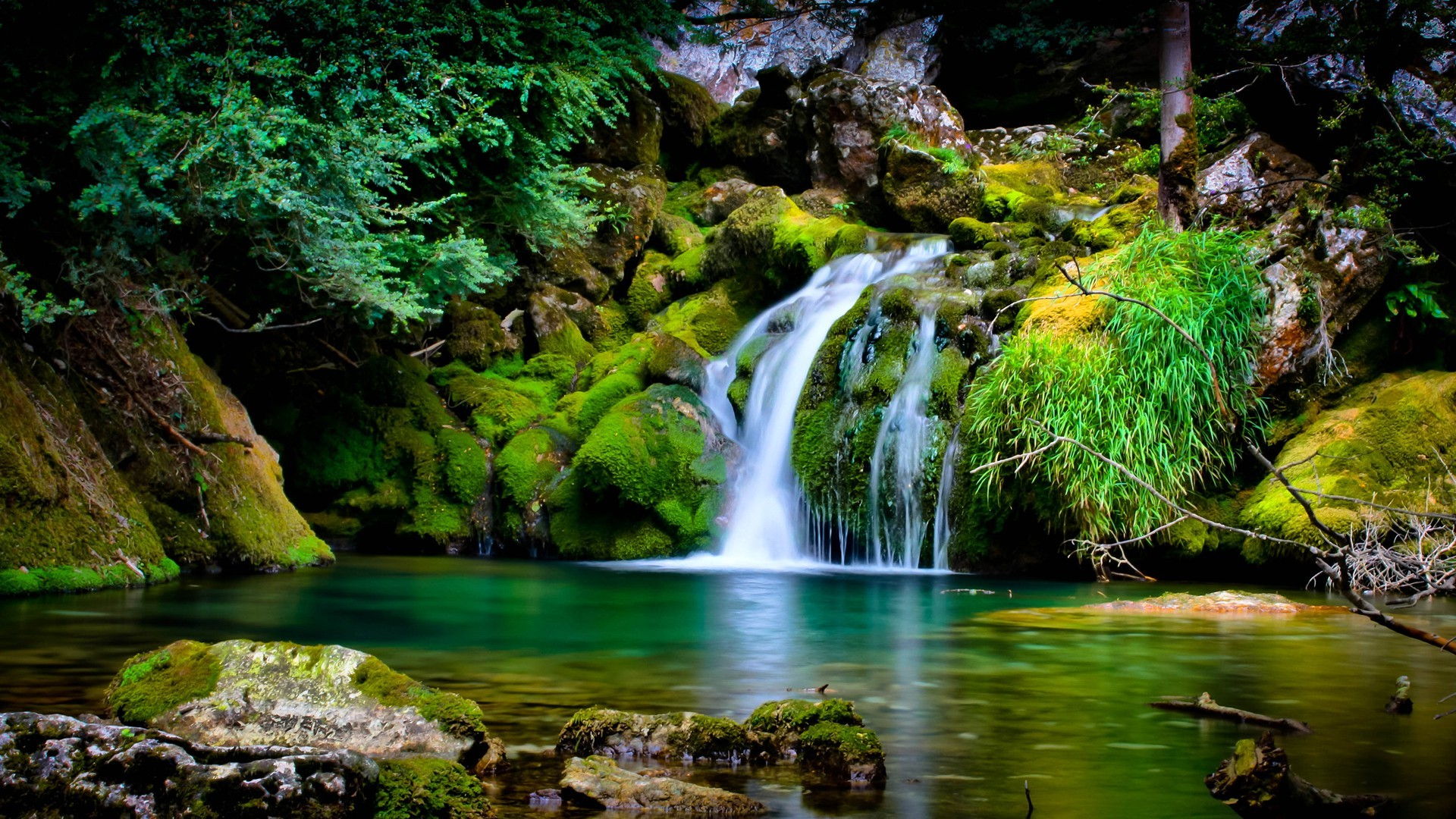 Nature, Landscape, Waterfall, 3d Wallpapers Hd / Desktop - High Resolution Natural Background - HD Wallpaper