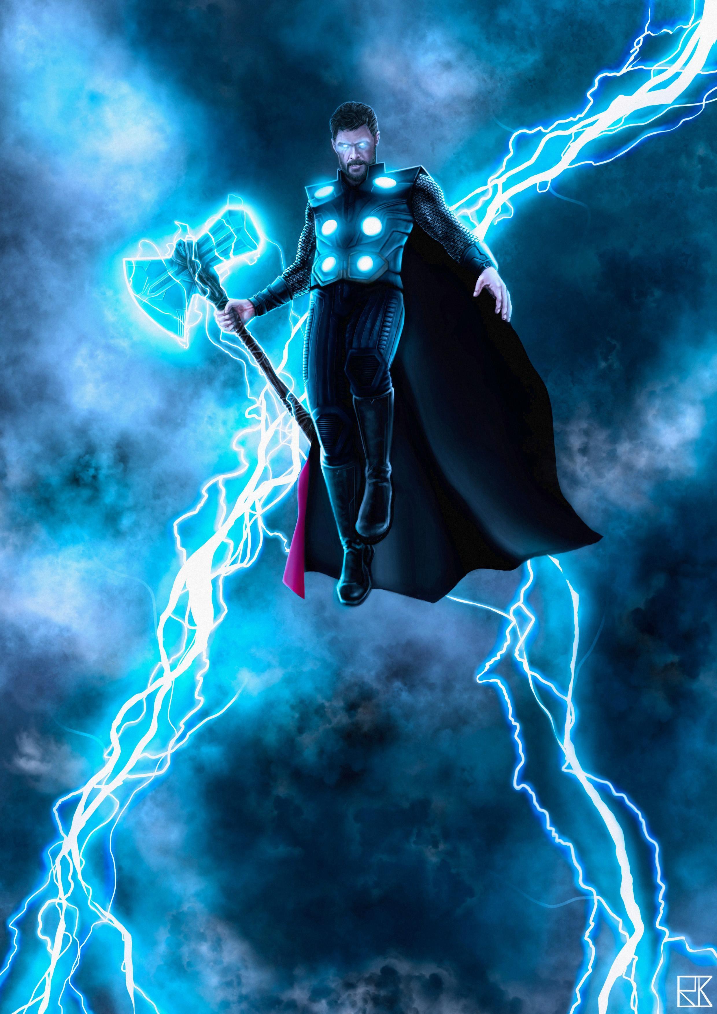 Stormbreaker Thor Wallpaper 4k - HD Wallpaper