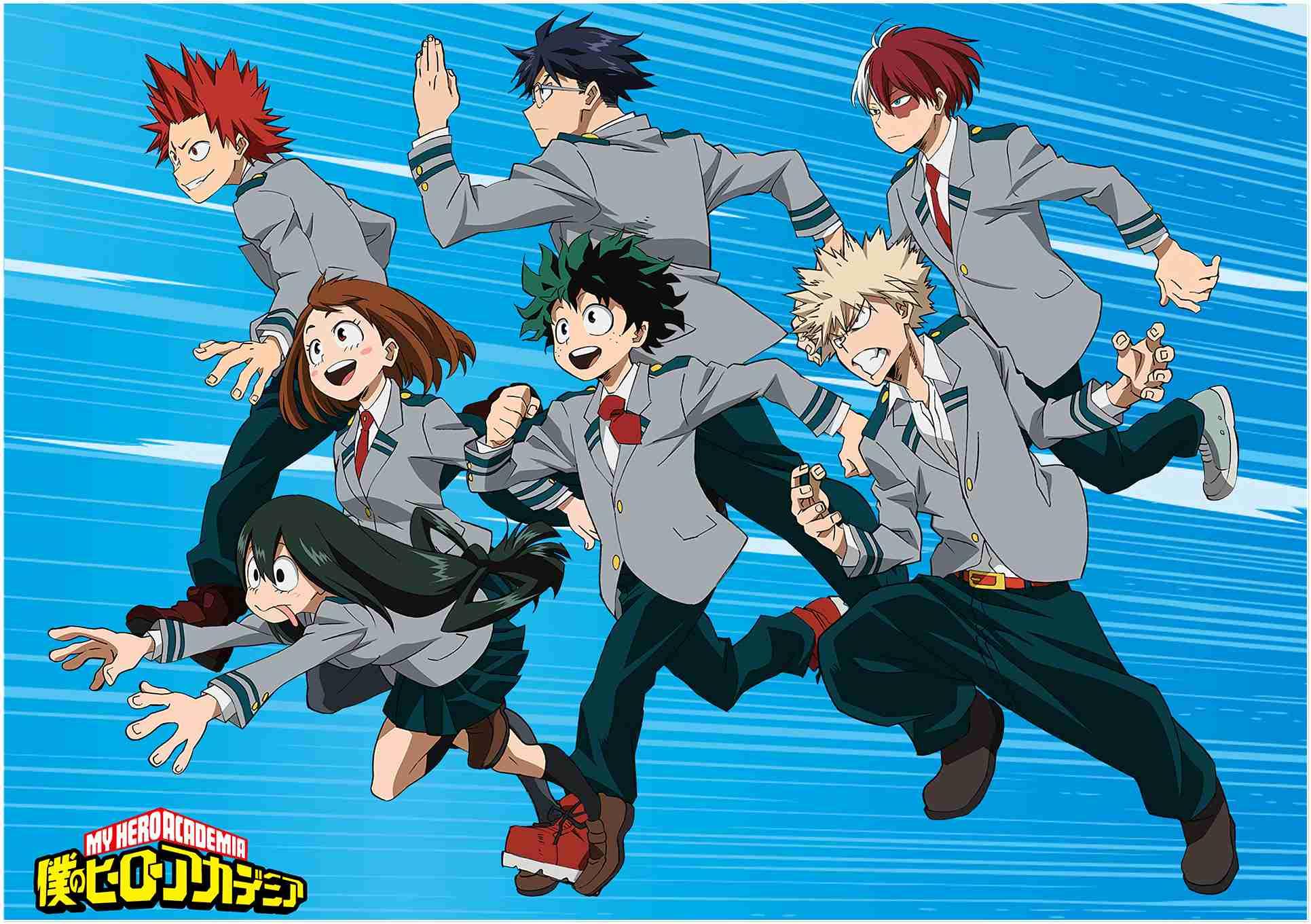 The Best My Hero Academia Wallpapers Beautiful Collection - My Hero Academia Group - HD Wallpaper