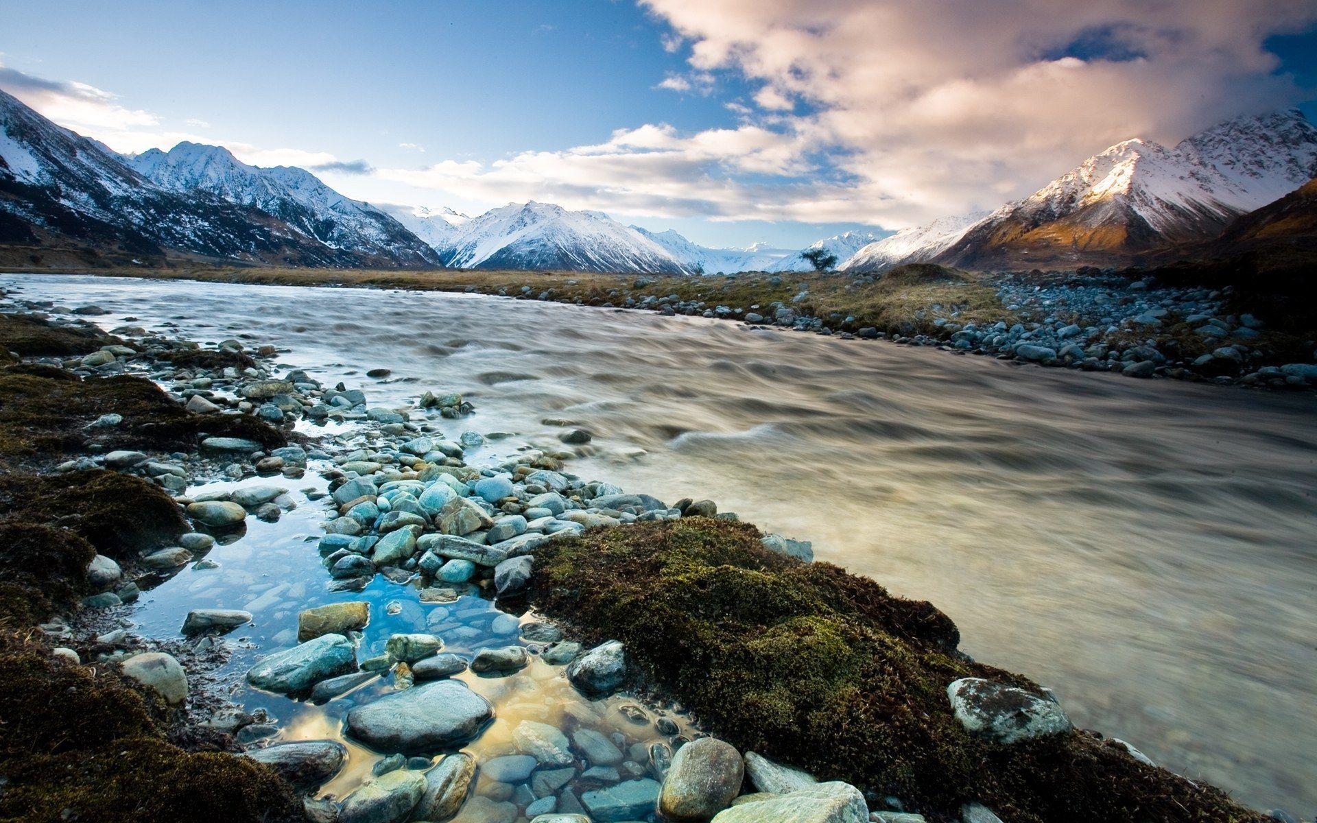 New Zealand Landscape - HD Wallpaper