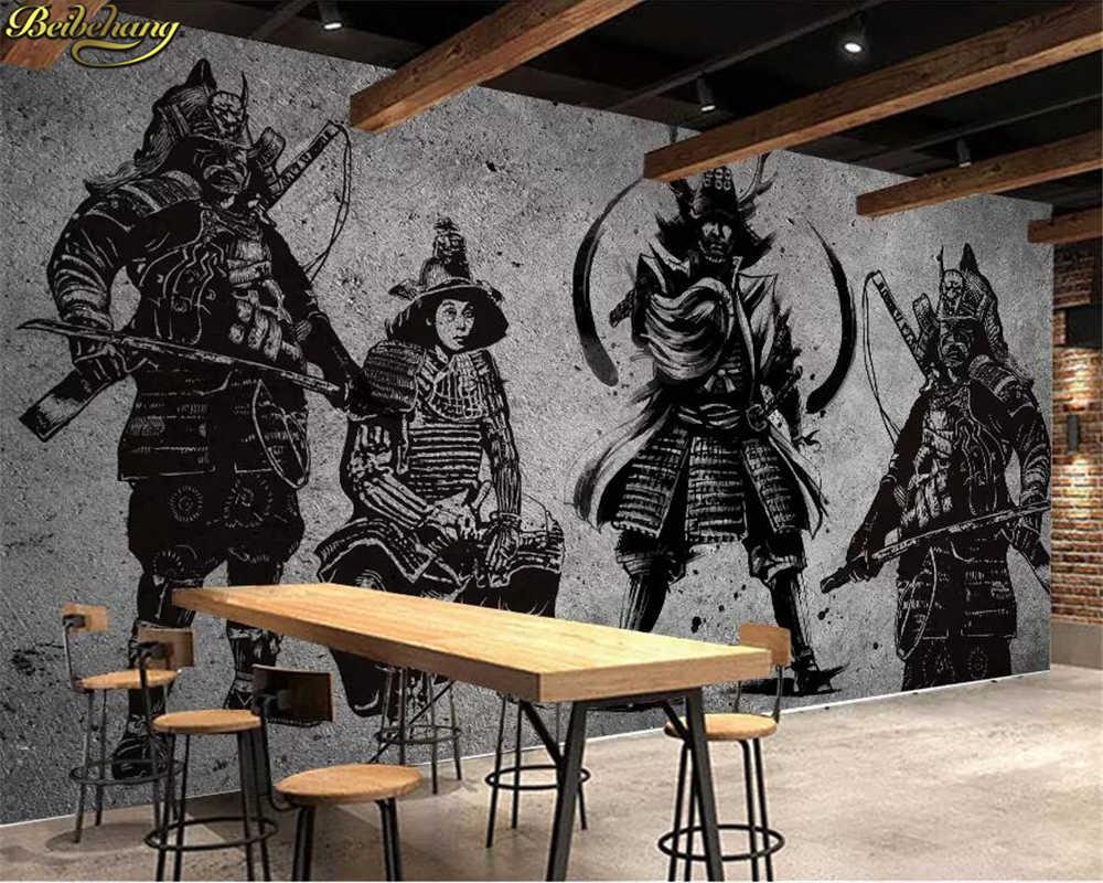 Beibehang Custom Photo Wallpaper Mural Retro Hand-painted - Creative Art Wall Painting - HD Wallpaper
