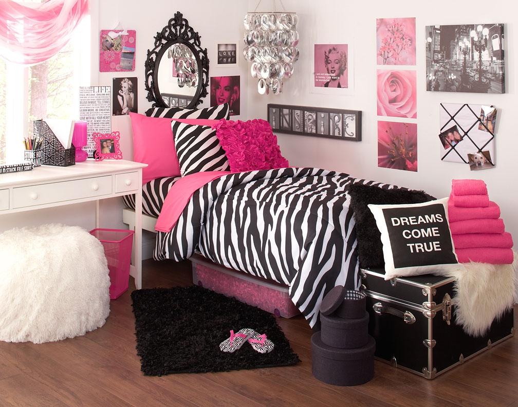 Black And Pink Bedroom Ideas 11 Hd Wallpaper Zebra Print Room Decor 1008x792 Wallpaper Teahub Io
