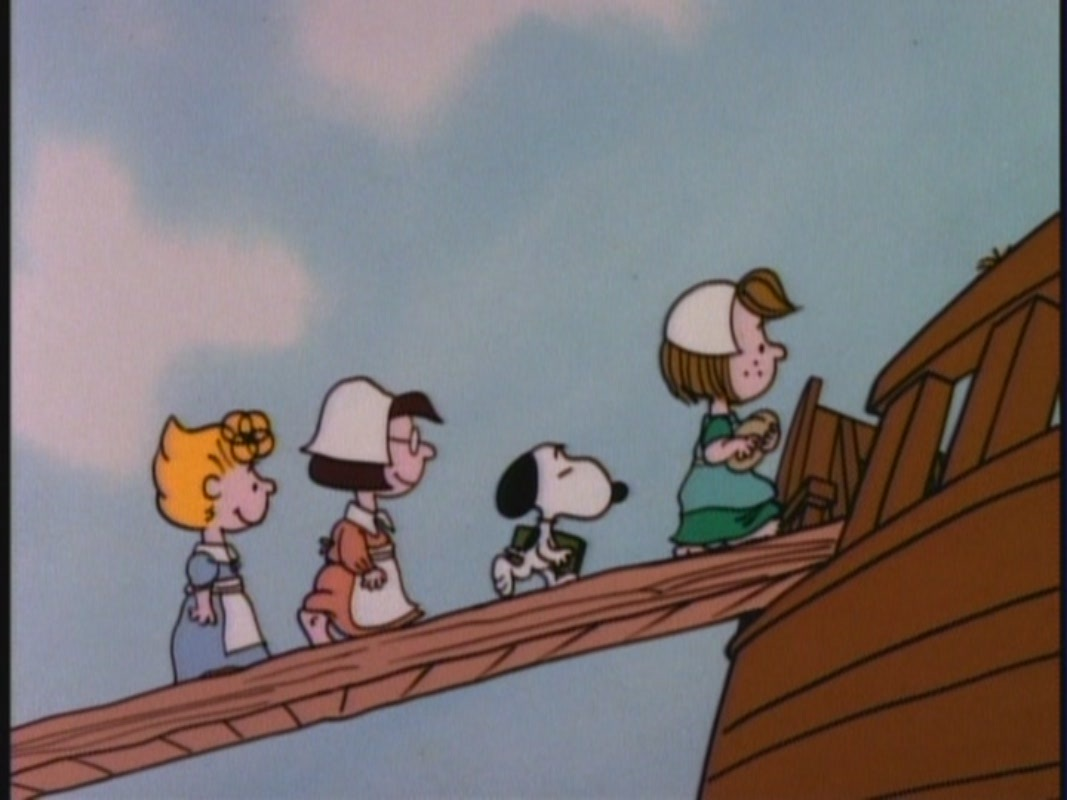 This Is America, Charlie Brown - Charlie Brown Thanksgiving Mayflower - HD Wallpaper