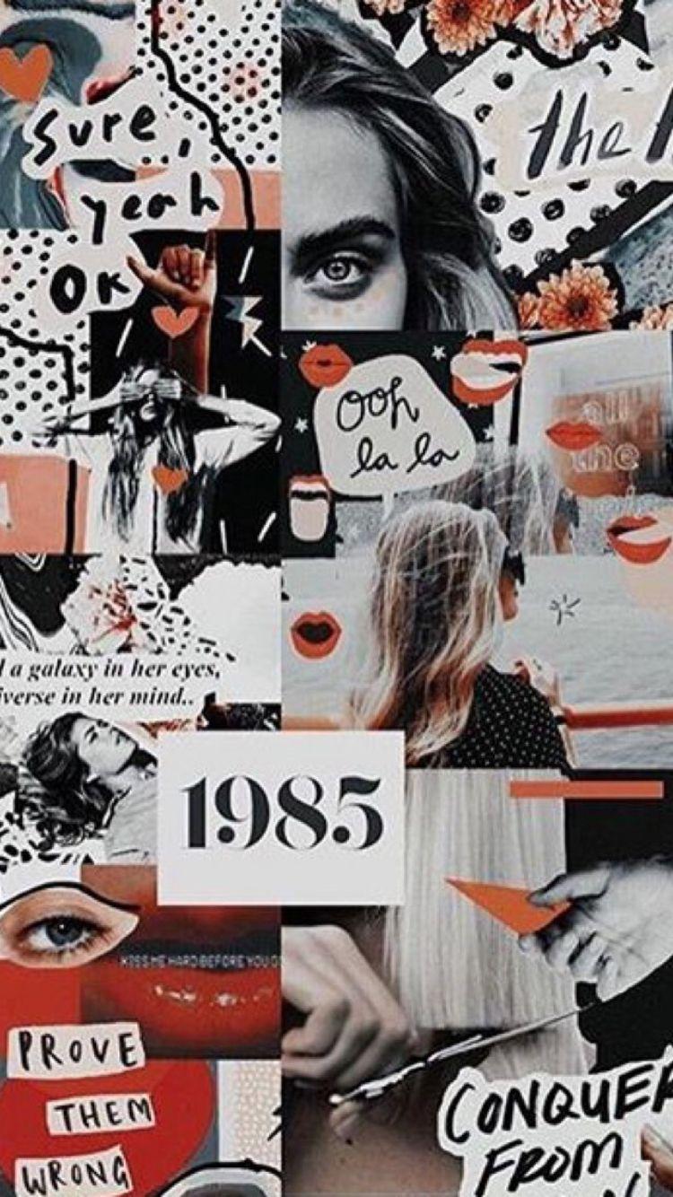 224 2247811 aesthetic vintage wallpaper red