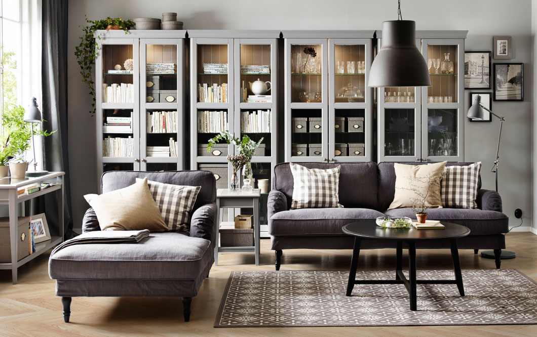 Fascinating Living Room Decoration Ikea Furniture Tv Living Room With Dark Grey Couch 1060x666 Wallpaper Teahub Io