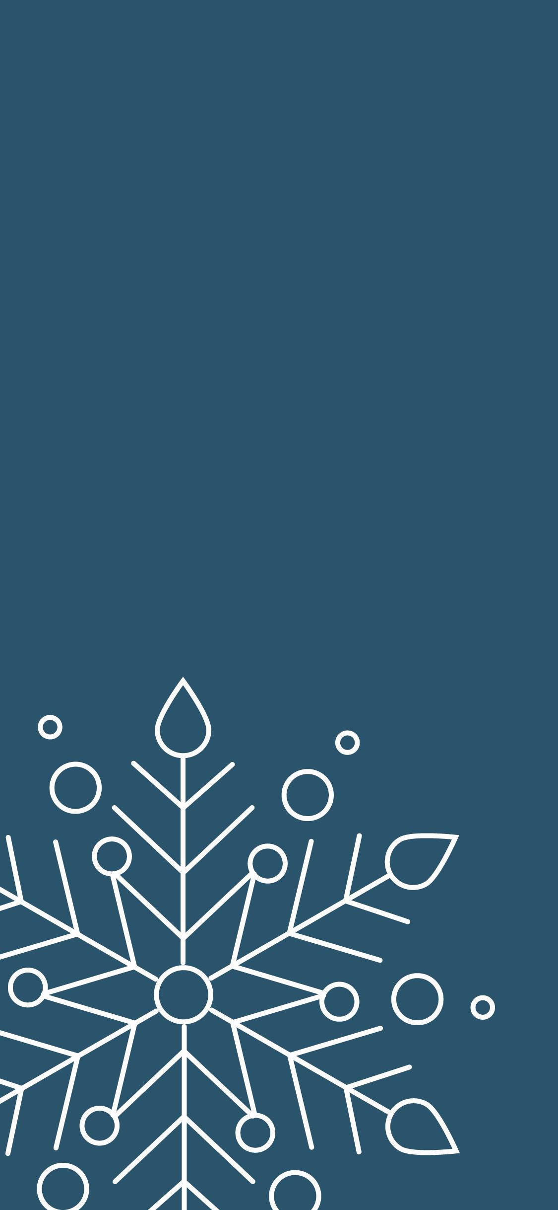 Snowflake Wallpaper Iphone 1125x2436 Wallpaper Teahub Io