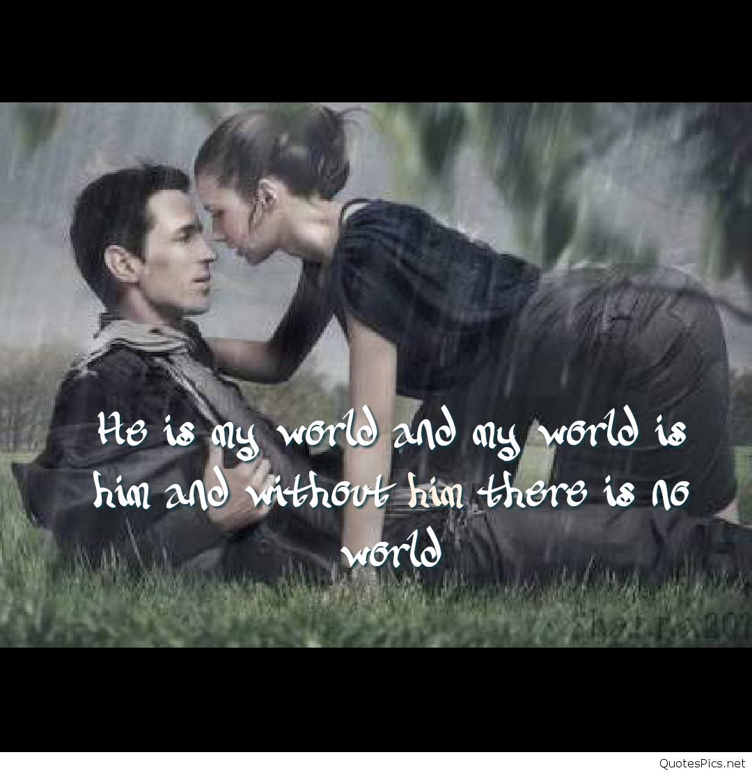 Romantic Barish Wallpaper - Romantic Rain Love Quotes - 7x7