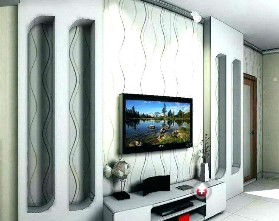 Wallpaper Living Room Feature Wall Feature Wall Ideas - Tv Unit Wall Design India - HD Wallpaper