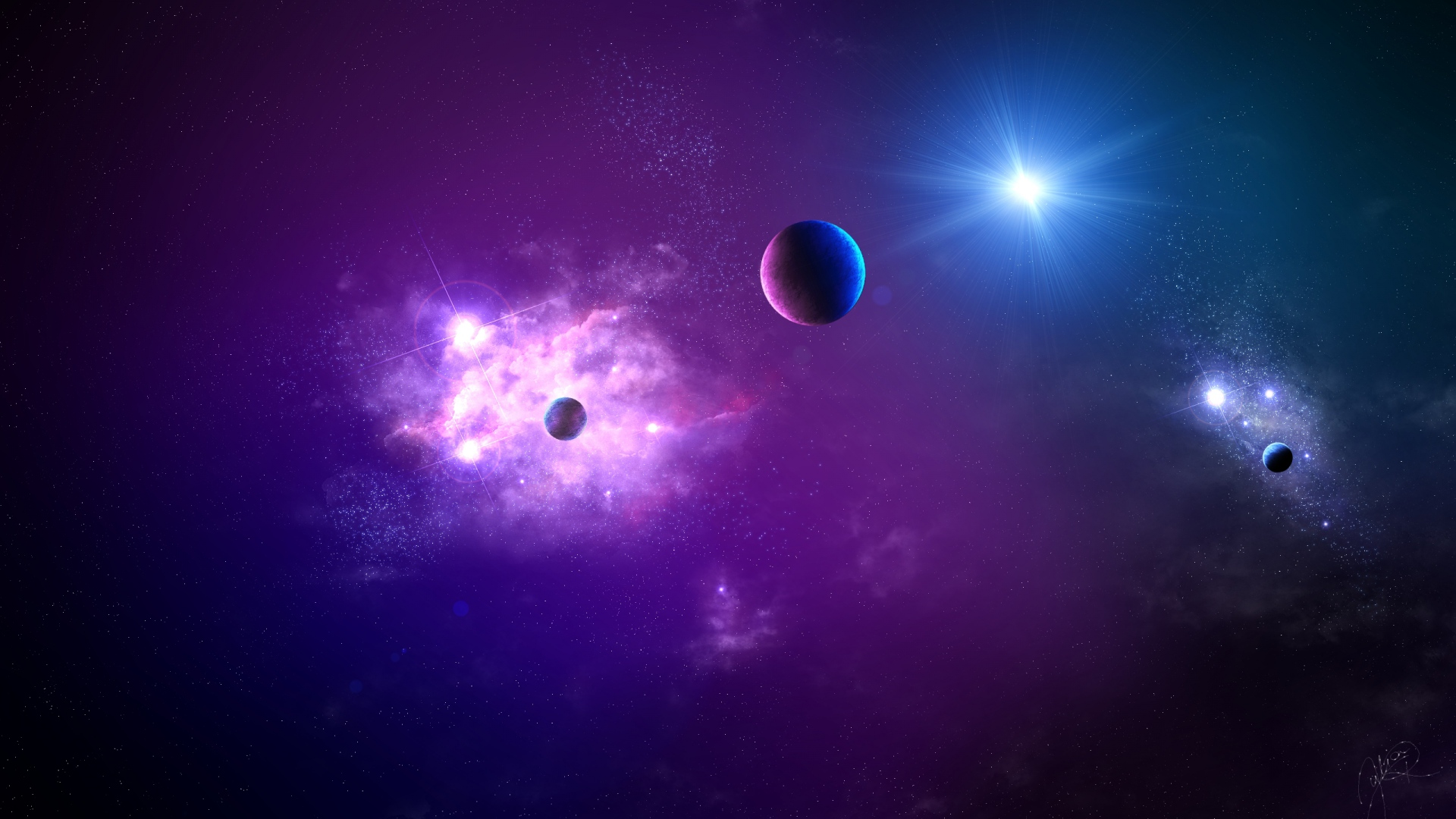 225 2259369 wallpaper planet supernova pink deep space abstract space