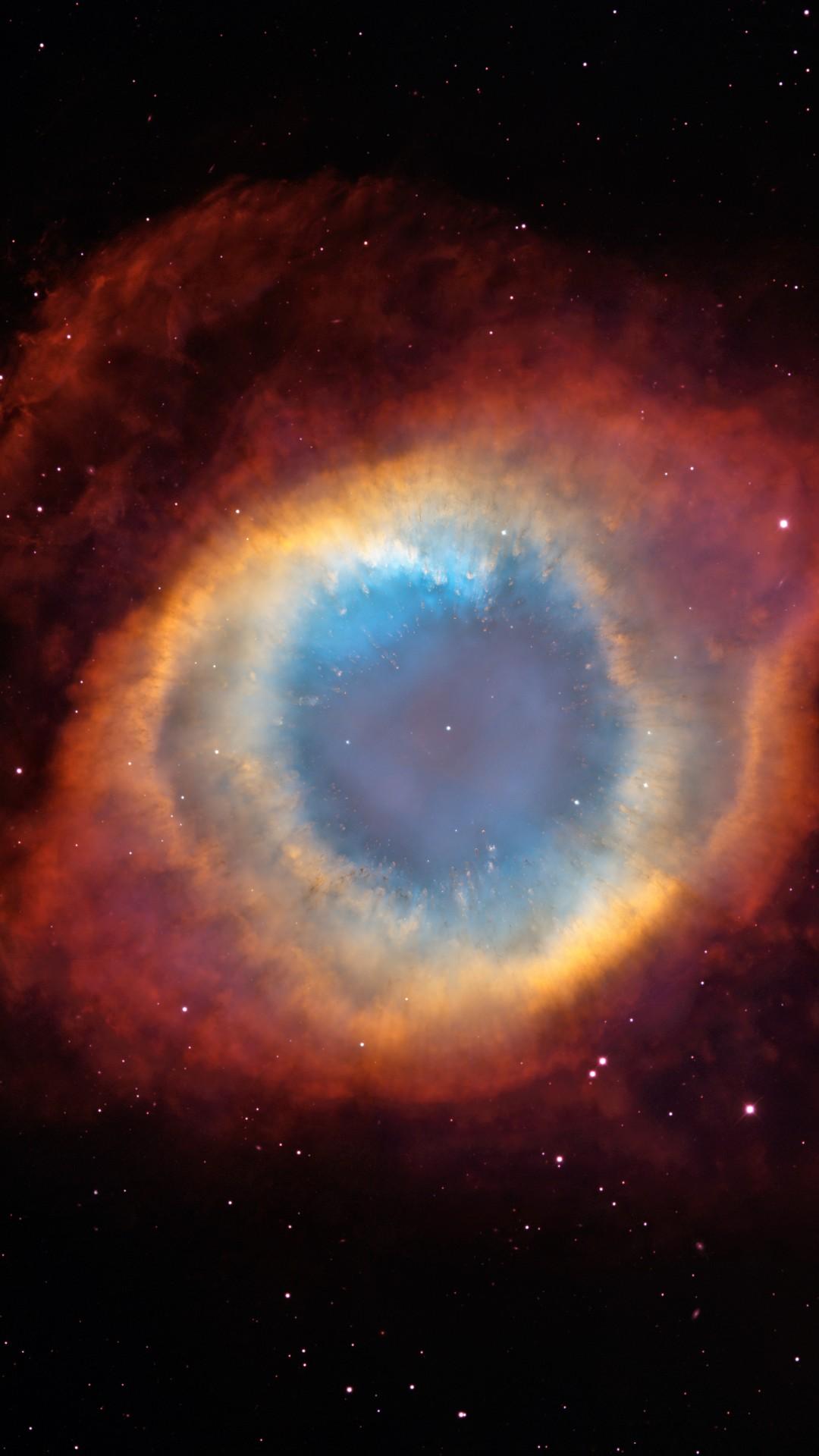 Eye Of God Nebula 1080x1920 Wallpaper Teahub Io