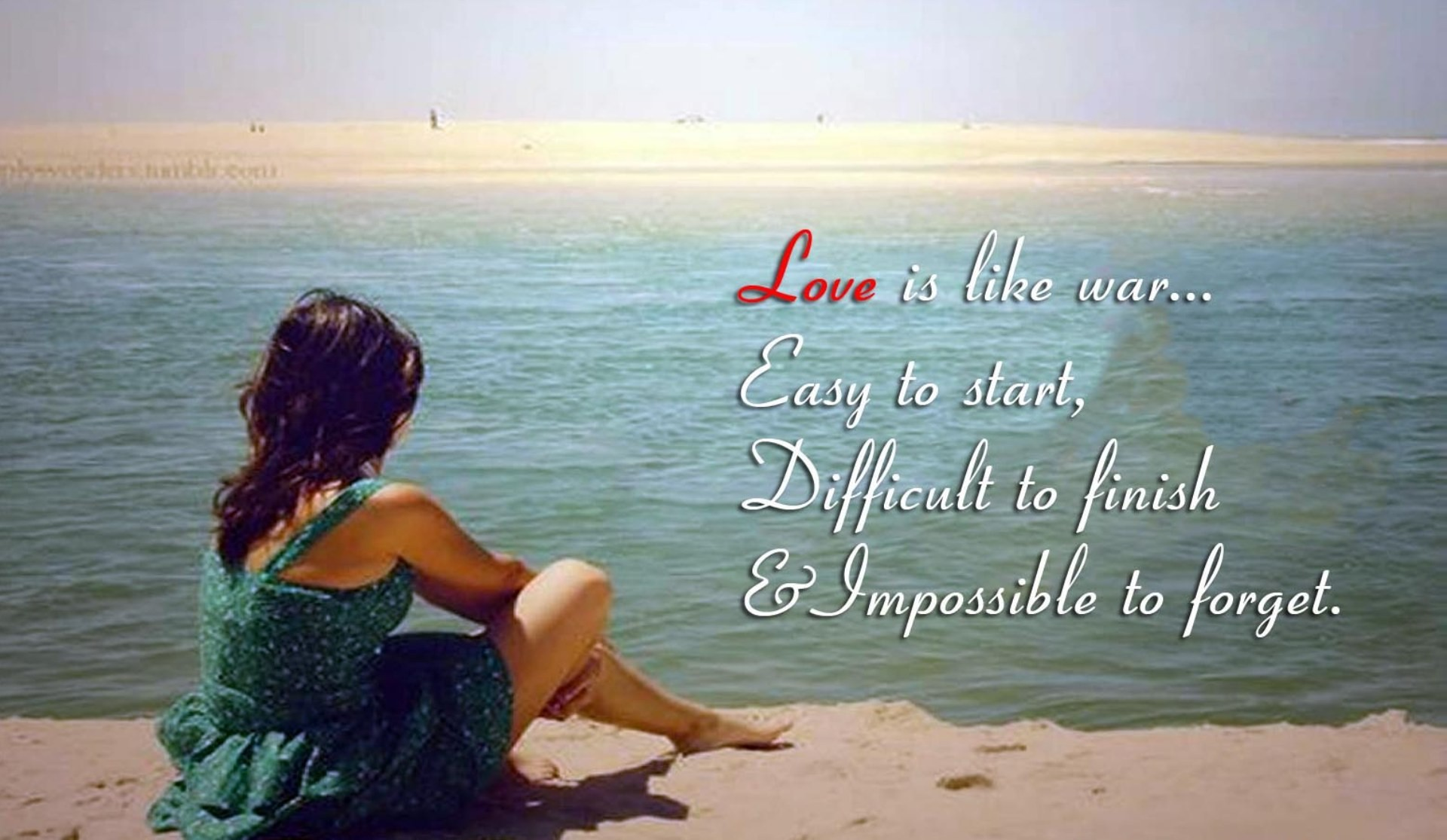 Romantic Wallpaper With Quotes   Data Src Free Cute - Quotes About Sea Side - HD Wallpaper