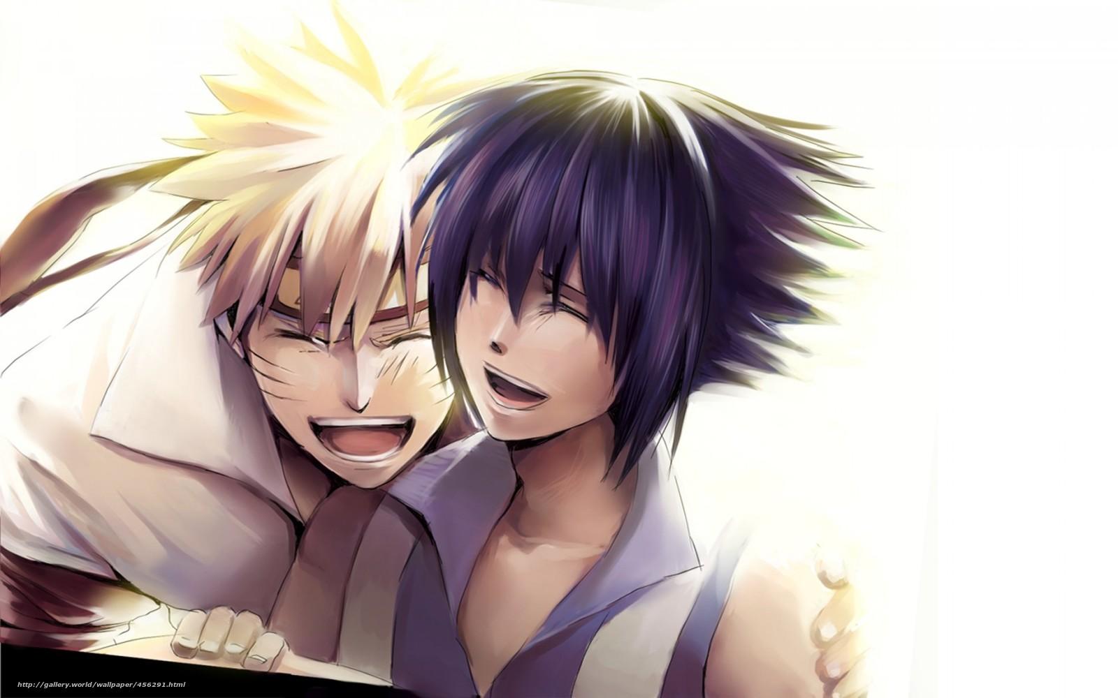 Download Wallpaper Anime, Naruto, Uzumaki Naruto, Uchiha - Descargar Imagenes De Naruto Y Sus Novias - HD Wallpaper