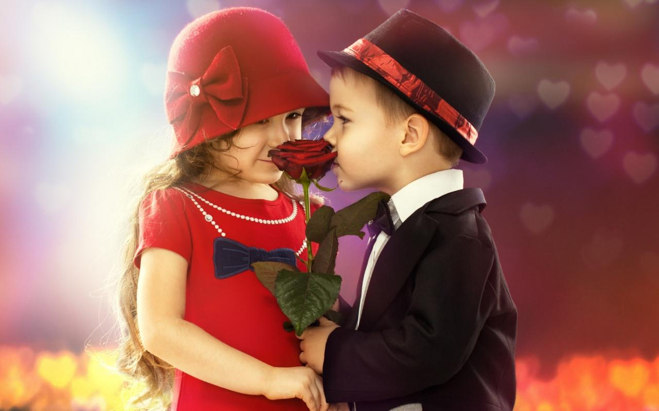 Cute Baby Couples - HD Wallpaper