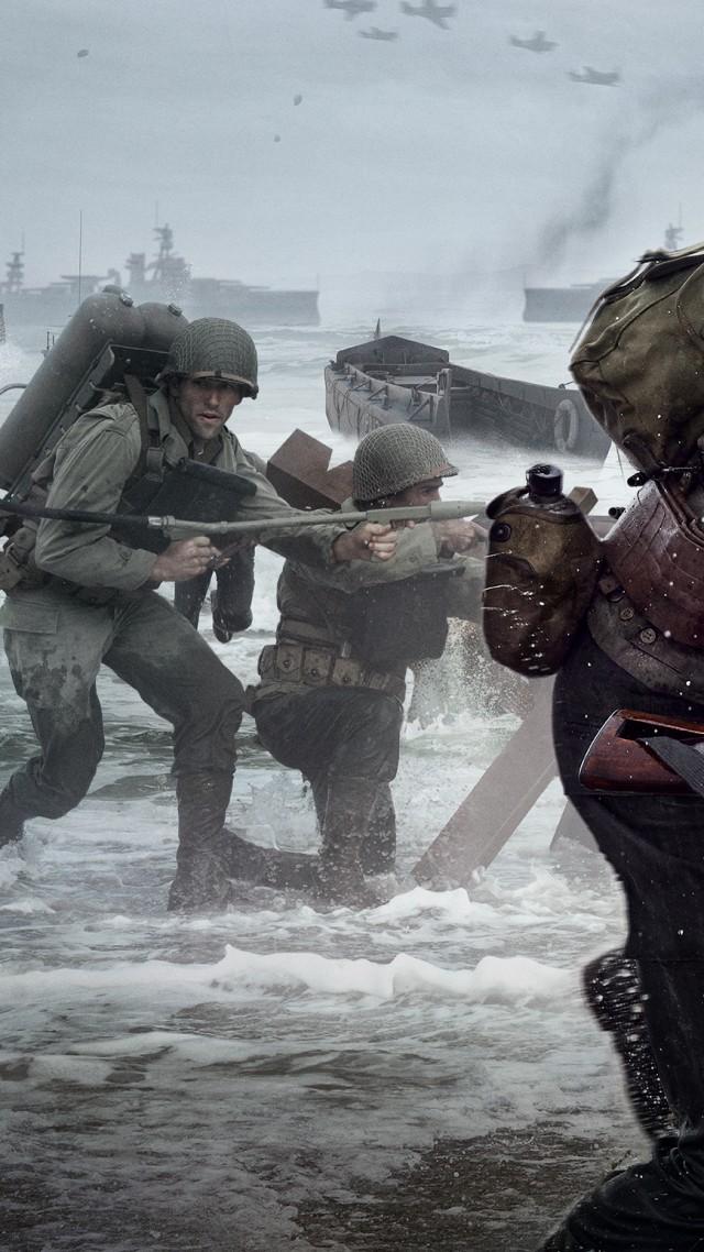 Call Of Duty Ww2 Wallpaper Iphone 640x1138 Wallpaper Teahub Io