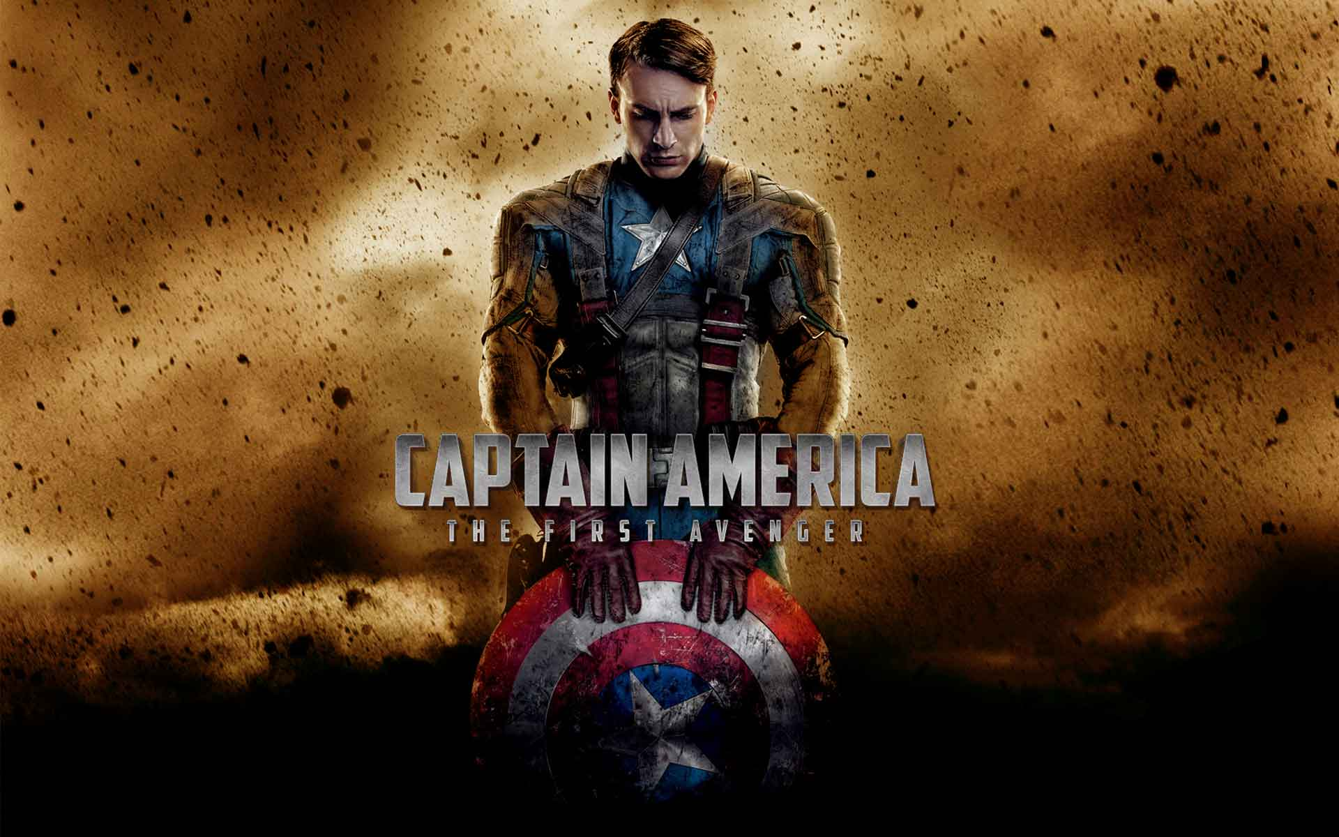 Captain America Wallpapers And Backgrounds W8themes - Captain America The First Avenger Background - HD Wallpaper