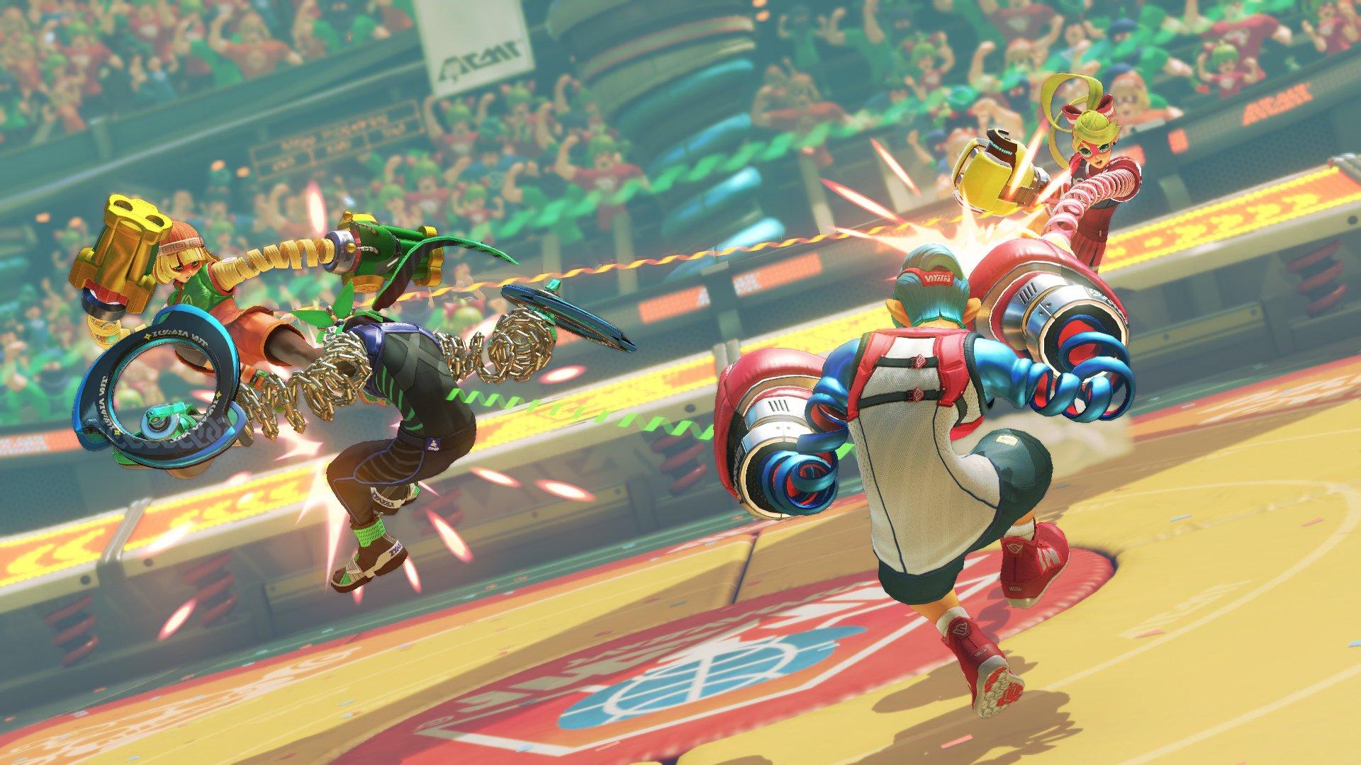 Nintendo Switch Arms Game - HD Wallpaper