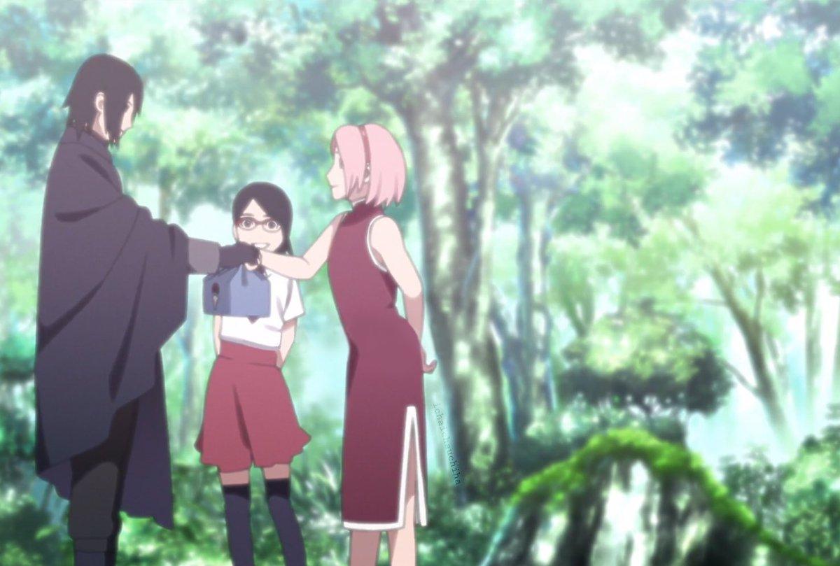 Sasuke And Sakura Uchiha - HD Wallpaper
