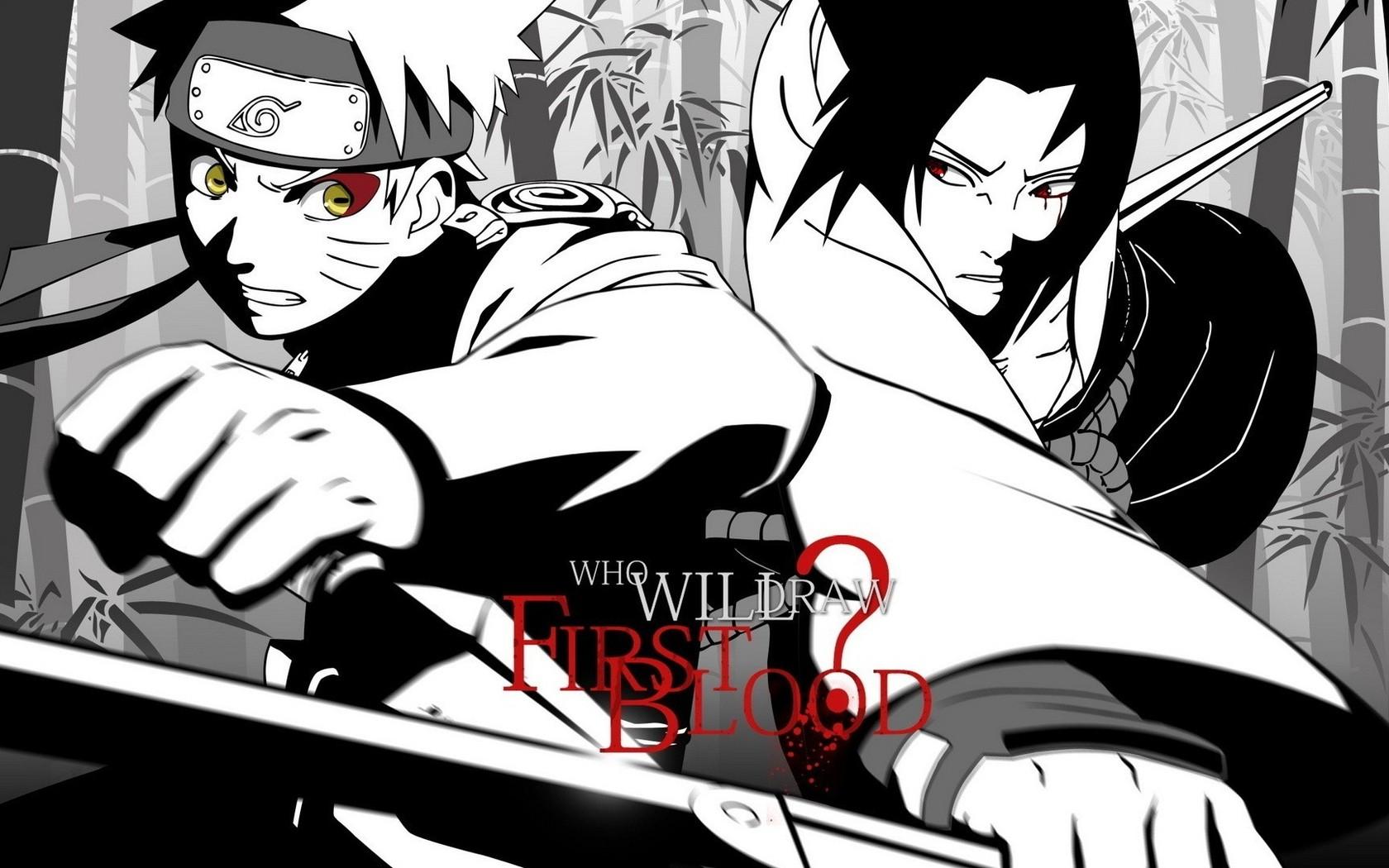 Sasuke - Naruto Shippuden Wallpaper Sasuke And Naruto - HD Wallpaper